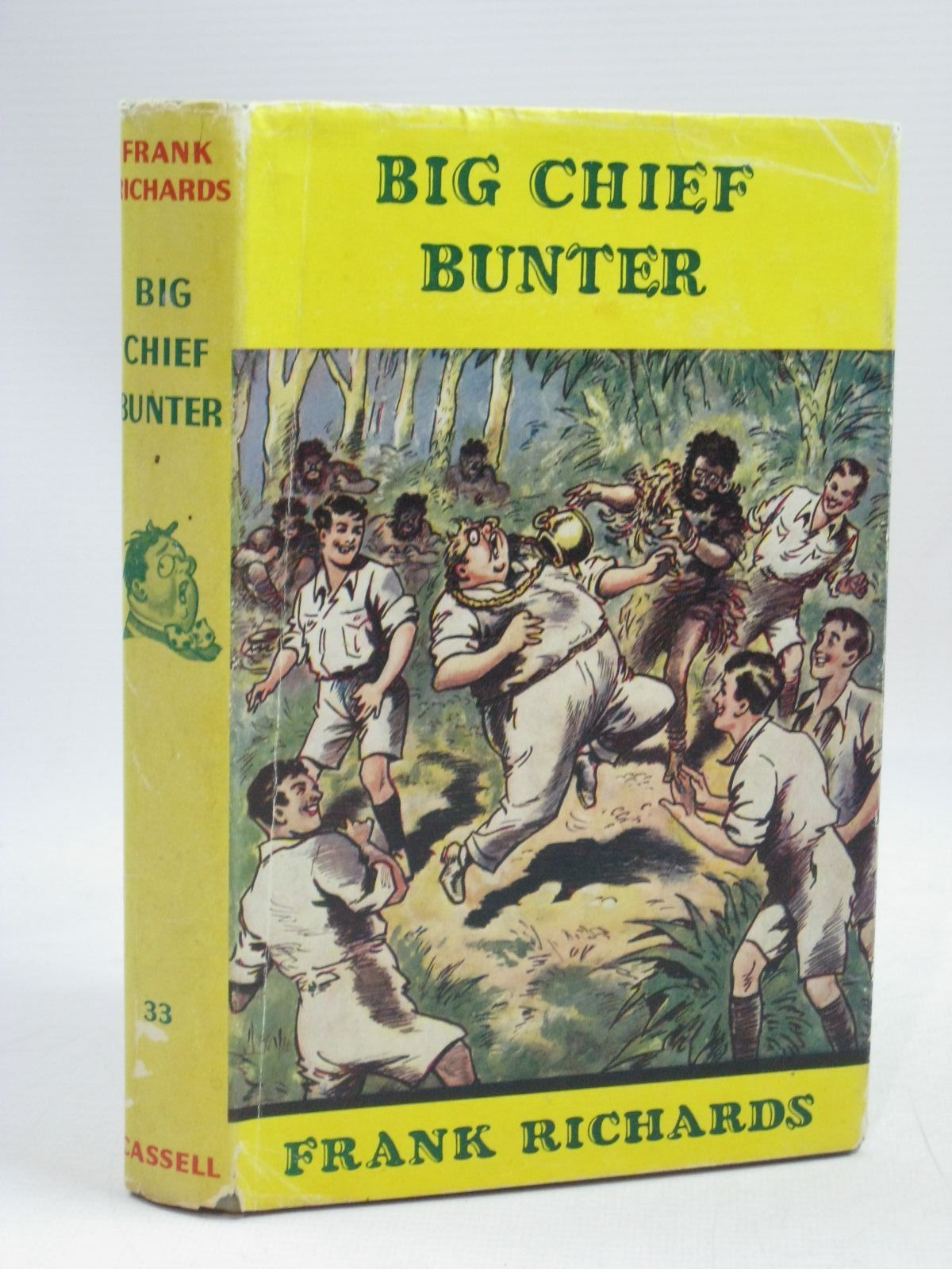Photo of BIG CHIEF BUNTER written by Richards, Frank illustrated by Chapman, C.H. published by Cassell & Co. Ltd. (STOCK CODE: 1405545)  for sale by Stella & Rose's Books