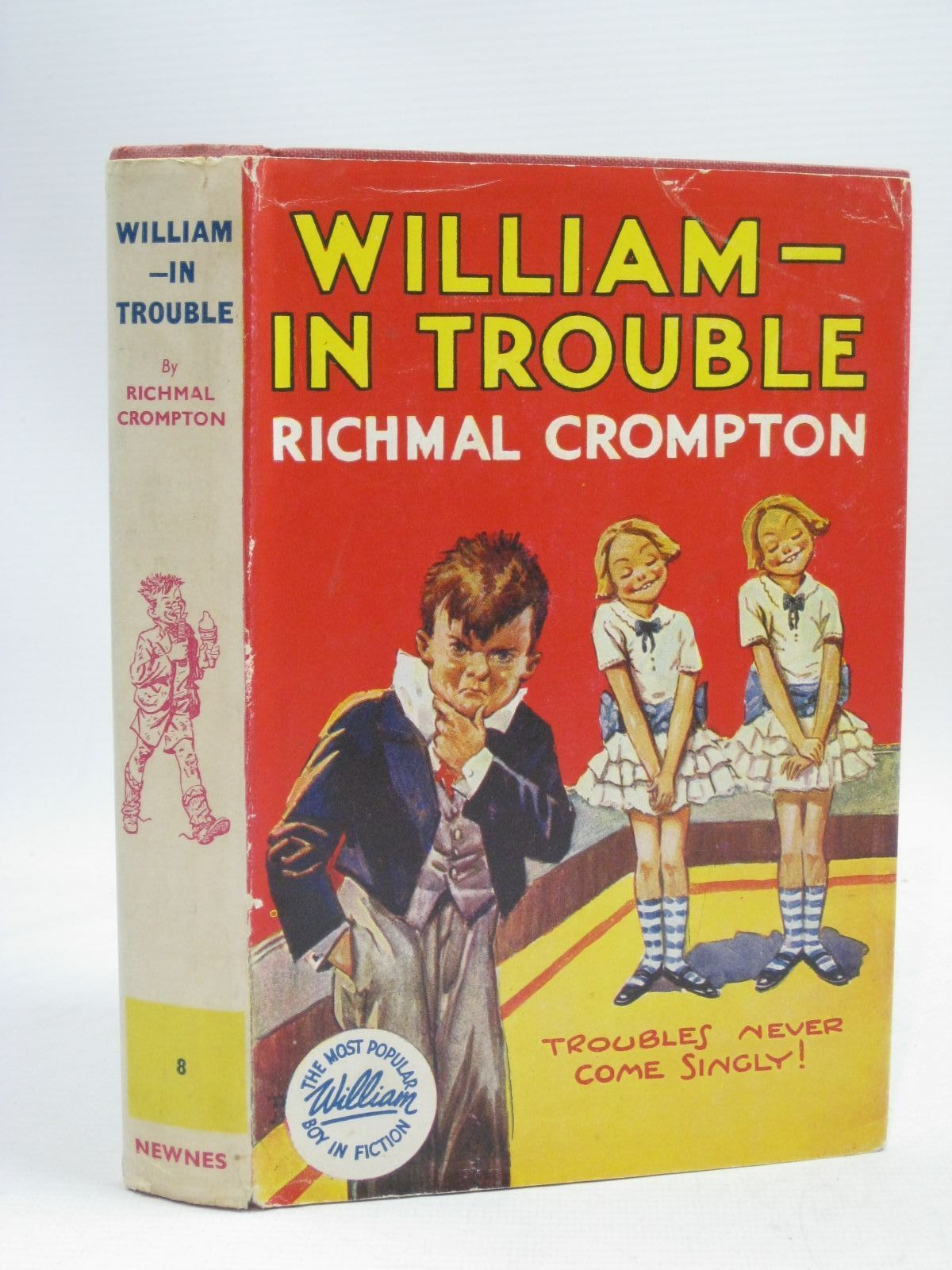 Photo of WILLIAM IN TROUBLE written by Crompton, Richmal illustrated by Henry, Thomas published by George Newnes Limited (STOCK CODE: 1405553)  for sale by Stella & Rose's Books