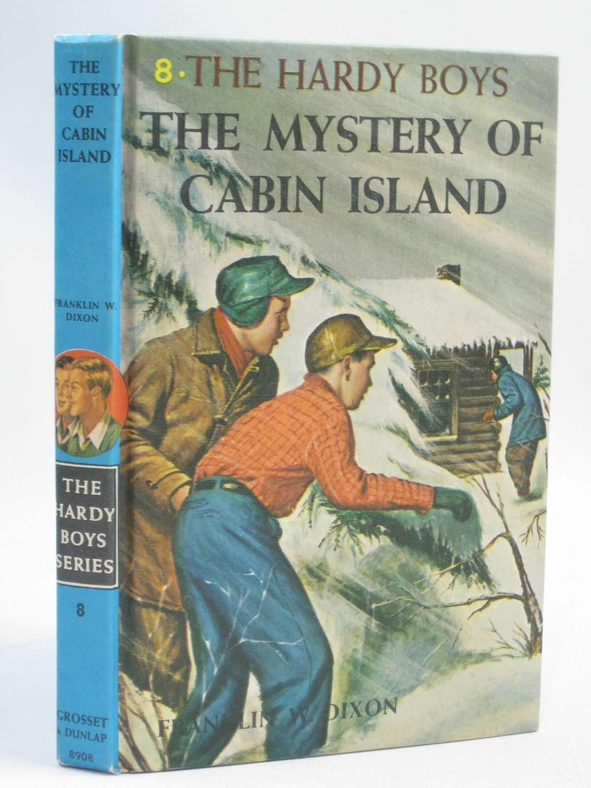 Photo of THE MYSTERY OF CABIN ISLAND written by Dixon, Franklin W. published by Grosset & Dunlap (STOCK CODE: 1405560)  for sale by Stella & Rose's Books