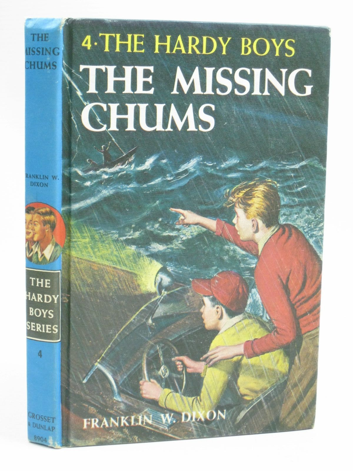Photo of THE MISSING CHUMS written by Dixon, Franklin W. published by Grosset & Dunlap (STOCK CODE: 1405561)  for sale by Stella & Rose's Books