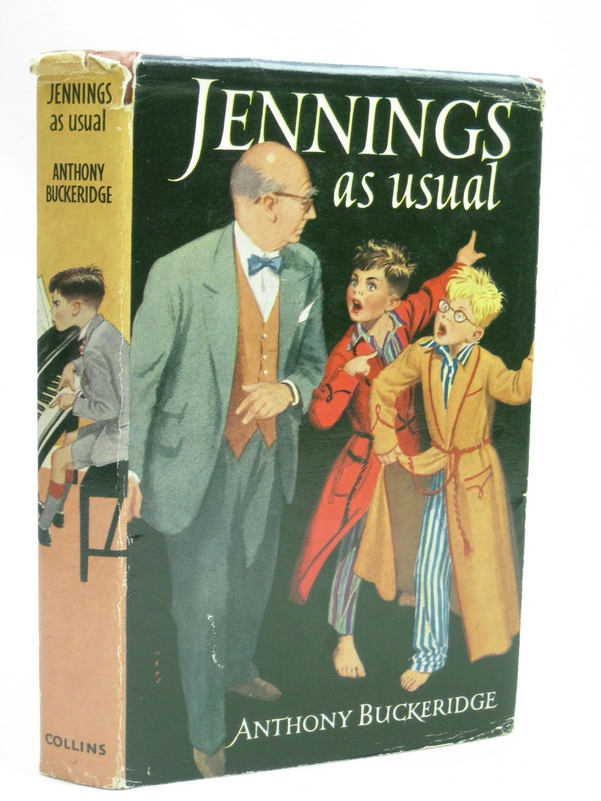 Photo of JENNINGS AS USUAL written by Buckeridge, Anthony illustrated by Mays,  published by Collins (STOCK CODE: 1405570)  for sale by Stella & Rose's Books