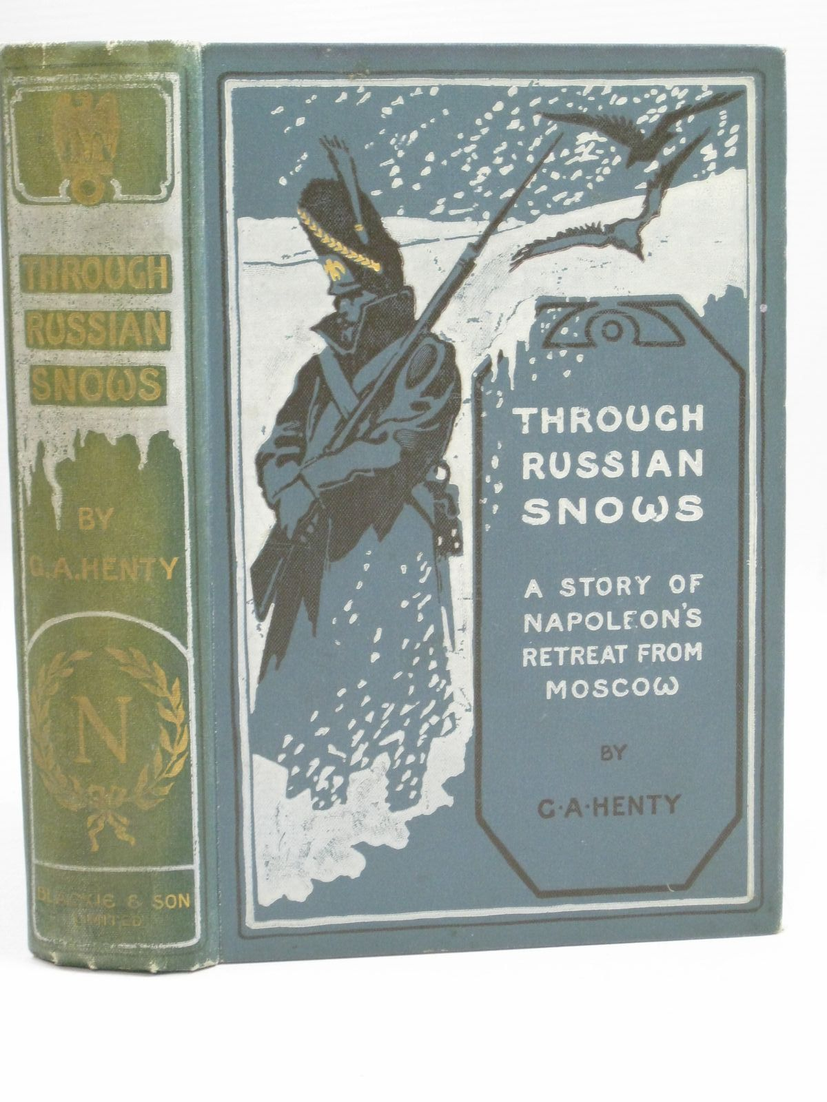 Photo of THROUGH RUSSIAN SNOWS written by Henty, G.A. illustrated by Overend, W.H. published by Blackie & Son Ltd. (STOCK CODE: 1405596)  for sale by Stella & Rose's Books