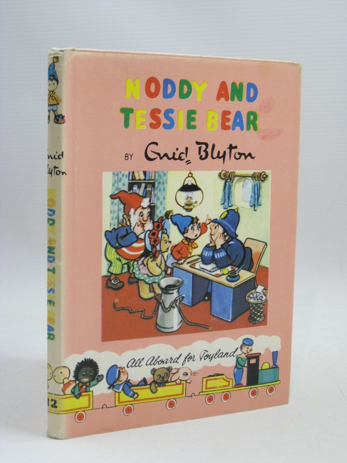 Photo of NODDY AND TESSIE BEAR written by Blyton, Enid illustrated by Lee, Robert published by Sampson Low, Marston & Co. Ltd., The Richards Press (STOCK CODE: 1405643)  for sale by Stella & Rose's Books