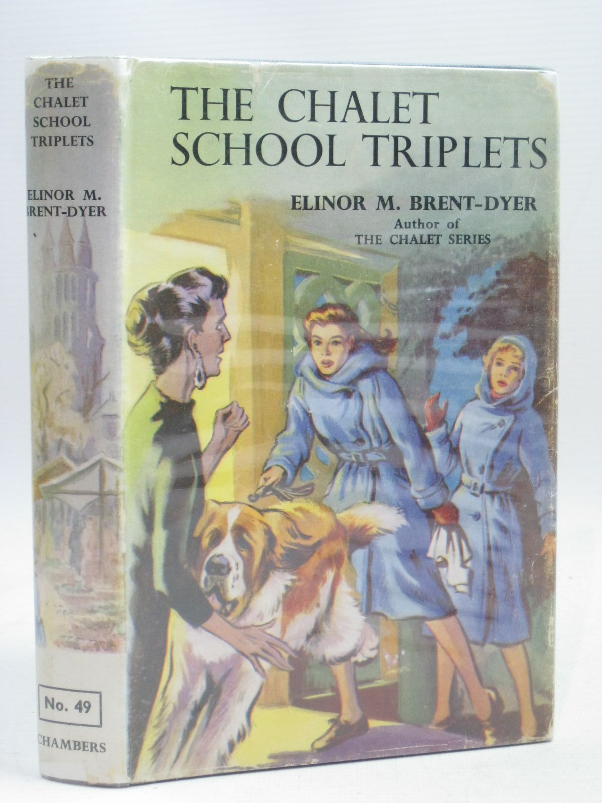 Photo of THE CHALET SCHOOL TRIPLETS written by Brent-Dyer, Elinor M. illustrated by Brook, D. published by W. & R. Chambers Limited (STOCK CODE: 1405673)  for sale by Stella & Rose's Books