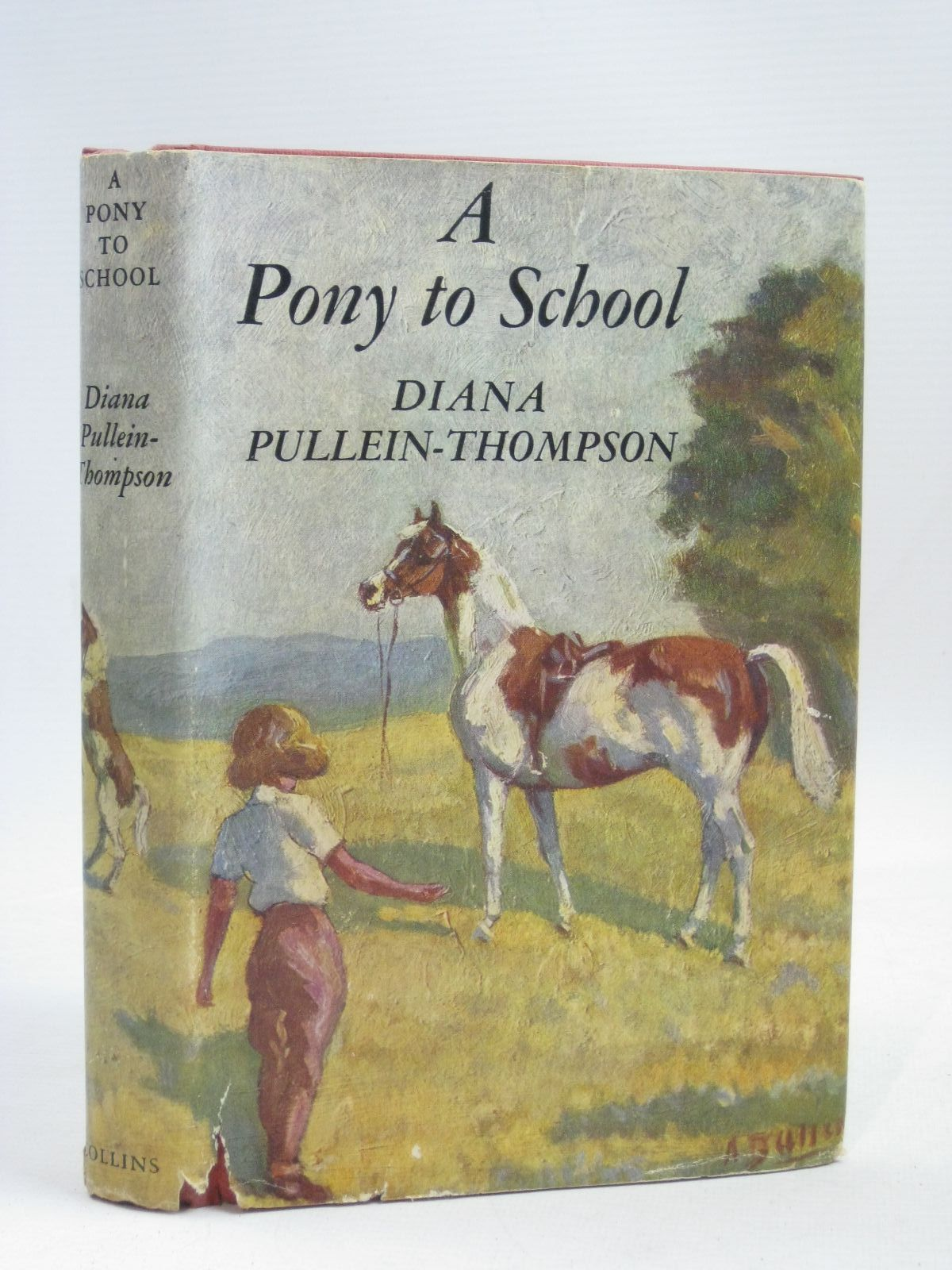 Photo of A PONY TO SCHOOL written by Pullein-Thompson, Diana illustrated by Bullen, Anne published by Collins (STOCK CODE: 1405719)  for sale by Stella & Rose's Books