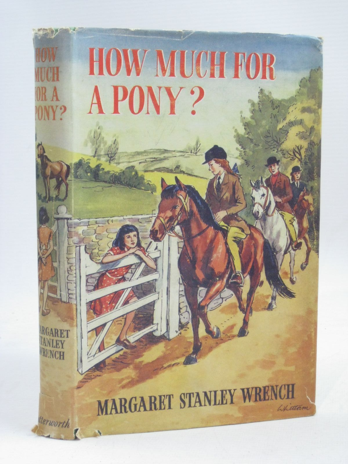 Photo of HOW MUCH FOR A PONY? written by Wrench, Margaret Stanley illustrated by Whittam, Geoffrey published by Lutterworth Press (STOCK CODE: 1405720)  for sale by Stella & Rose's Books