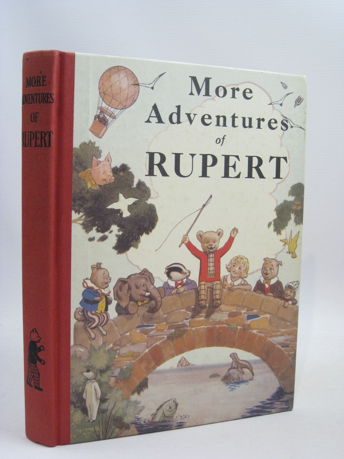 Photo of RUPERT ANNUAL 1937 (FACSIMILE) - MORE ADVENTURES OF RUPERT written by Bestall, Alfred illustrated by Bestall, Alfred published by Express Newspapers Ltd. (STOCK CODE: 1405725)  for sale by Stella & Rose's Books