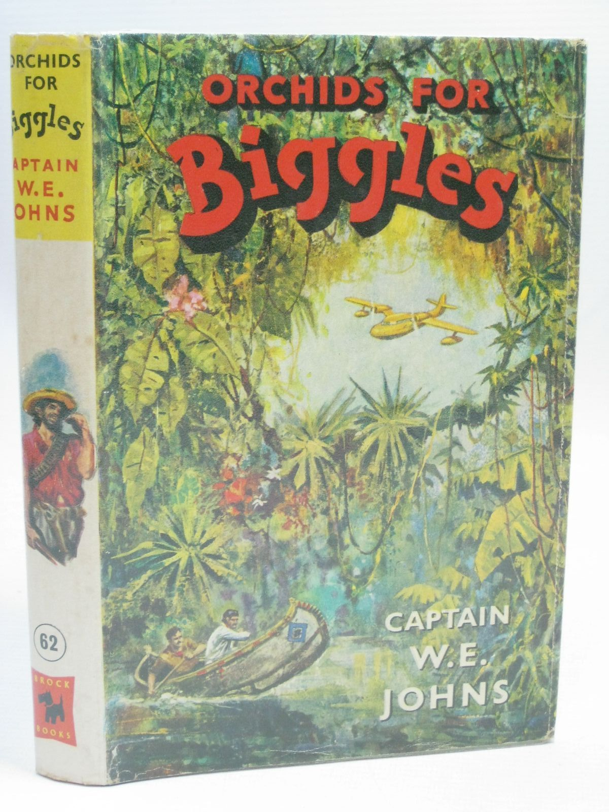 Photo of ORCHIDS FOR BIGGLES written by Johns, W.E. illustrated by Stead, Leslie published by Brockhampton Press (STOCK CODE: 1405754)  for sale by Stella & Rose's Books