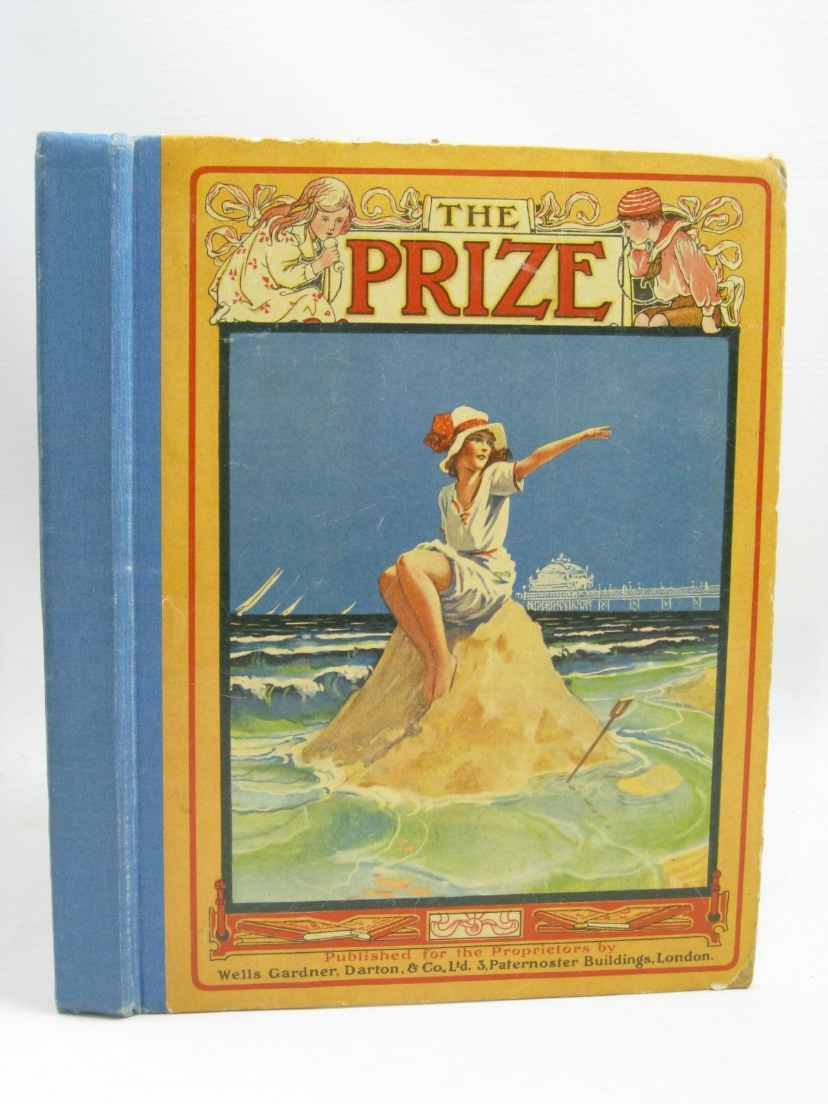 Photo of THE PRIZE FOR GIRLS AND BOYS published by Wells Gardner, Darton & Co. Limited (STOCK CODE: 1405759)  for sale by Stella & Rose's Books