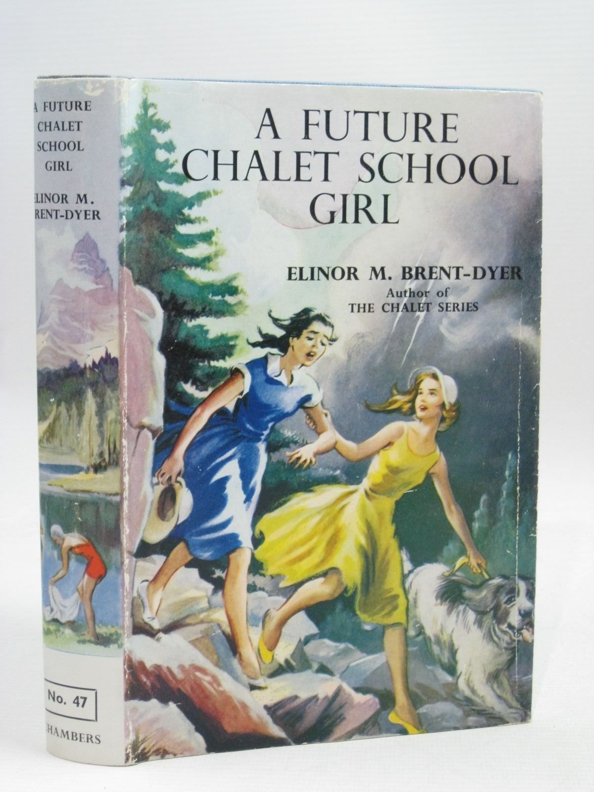 Photo of A FUTURE CHALET SCHOOL GIRL written by Brent-Dyer, Elinor M. published by W. & R. Chambers Limited (STOCK CODE: 1405769)  for sale by Stella & Rose's Books