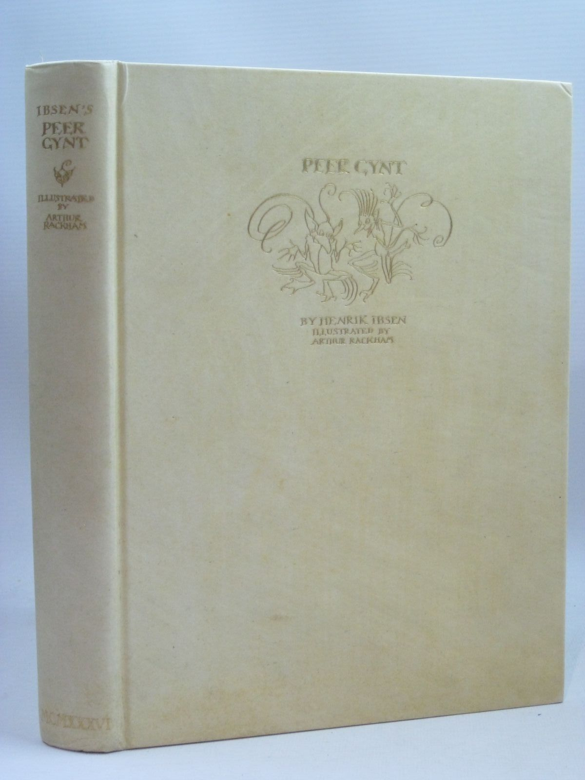 Photo of PEER GYNT written by Ibsen, Henrik illustrated by Rackham, Arthur published by George G. Harrap & Co. Ltd. (STOCK CODE: 1405779)  for sale by Stella & Rose's Books