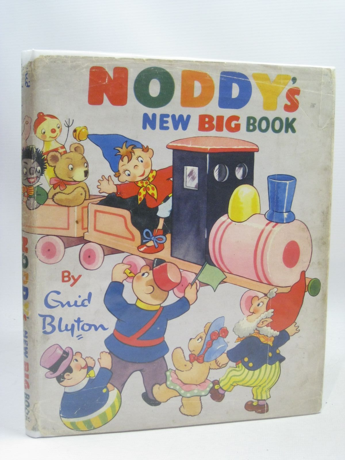 Photo of NODDY'S NEW BIG BOOK written by Blyton, Enid published by Sampson Low, Marston & Co. Ltd., D.V. Publications Ltd. (STOCK CODE: 1405784)  for sale by Stella & Rose's Books