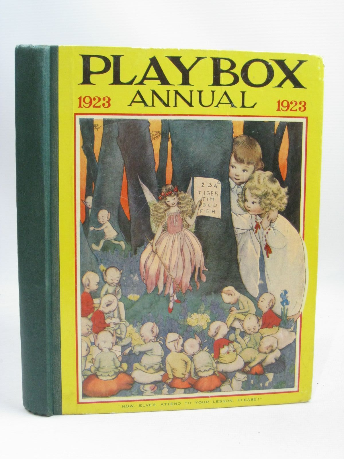 Photo of PLAYBOX ANNUAL 1923 illustrated by Lambert, H.G.C. Marsh<br />Church, L.<br />Cash, S.J.<br />et al.,  published by The Amalgamated Press (STOCK CODE: 1405786)  for sale by Stella & Rose's Books