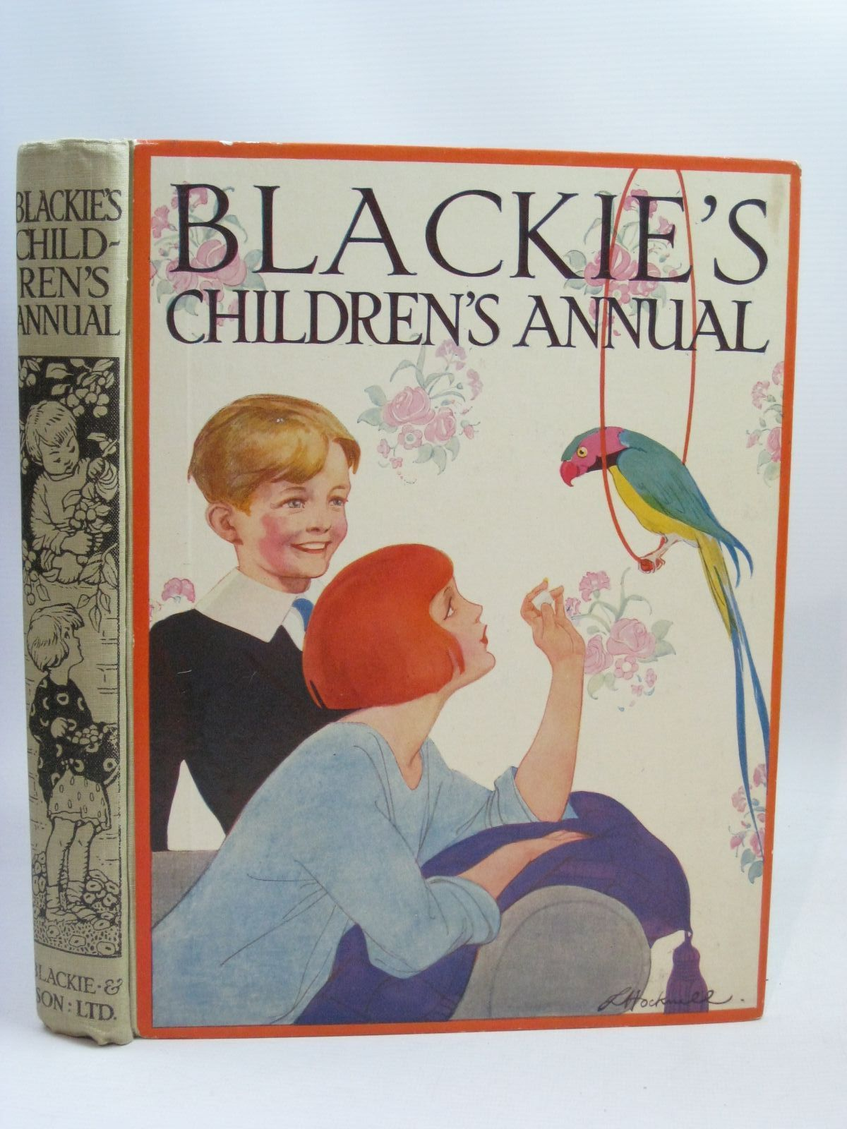 Photo of BLACKIE'S CHILDREN'S ANNUAL 22ND YEAR written by Heward, Constance<br />Baker, Margaret<br />Todd, Barbara Euphan<br />et al,  illustrated by Edwards, Lionel<br />Brisley, Joyce Lankester<br />Roberts, Lunt<br />Brock, C.E.<br />Beaman, S.G. Hulme<br />et al.,  published by Blackie & Son Ltd. (STOCK CODE: 1405787)  for sale by Stella & Rose's Books
