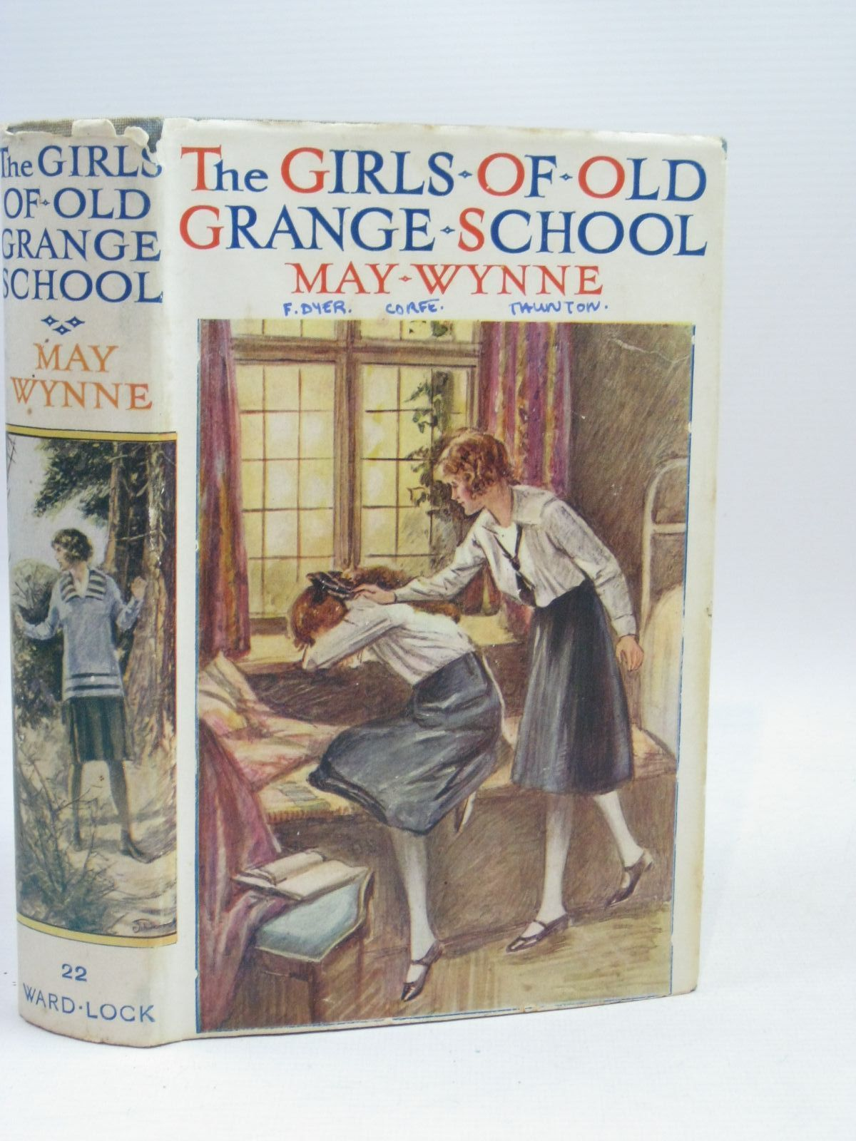 Photo of THE GIRLS OF OLD GRANGE SCHOOL written by Wynne, May published by Ward, Lock & Co. (STOCK CODE: 1405812)  for sale by Stella & Rose's Books