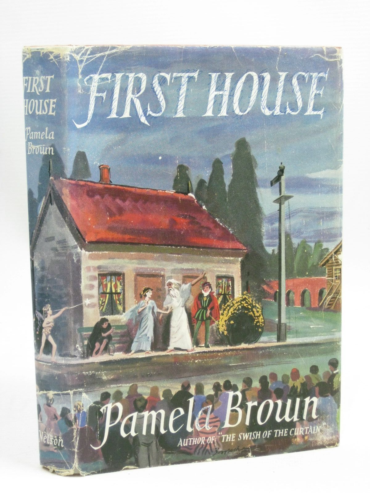 Photo of FIRST HOUSE written by Brown, Pamela illustrated by Brookshaw, Drake published by Thomas Nelson and Sons Ltd. (STOCK CODE: 1405814)  for sale by Stella & Rose's Books