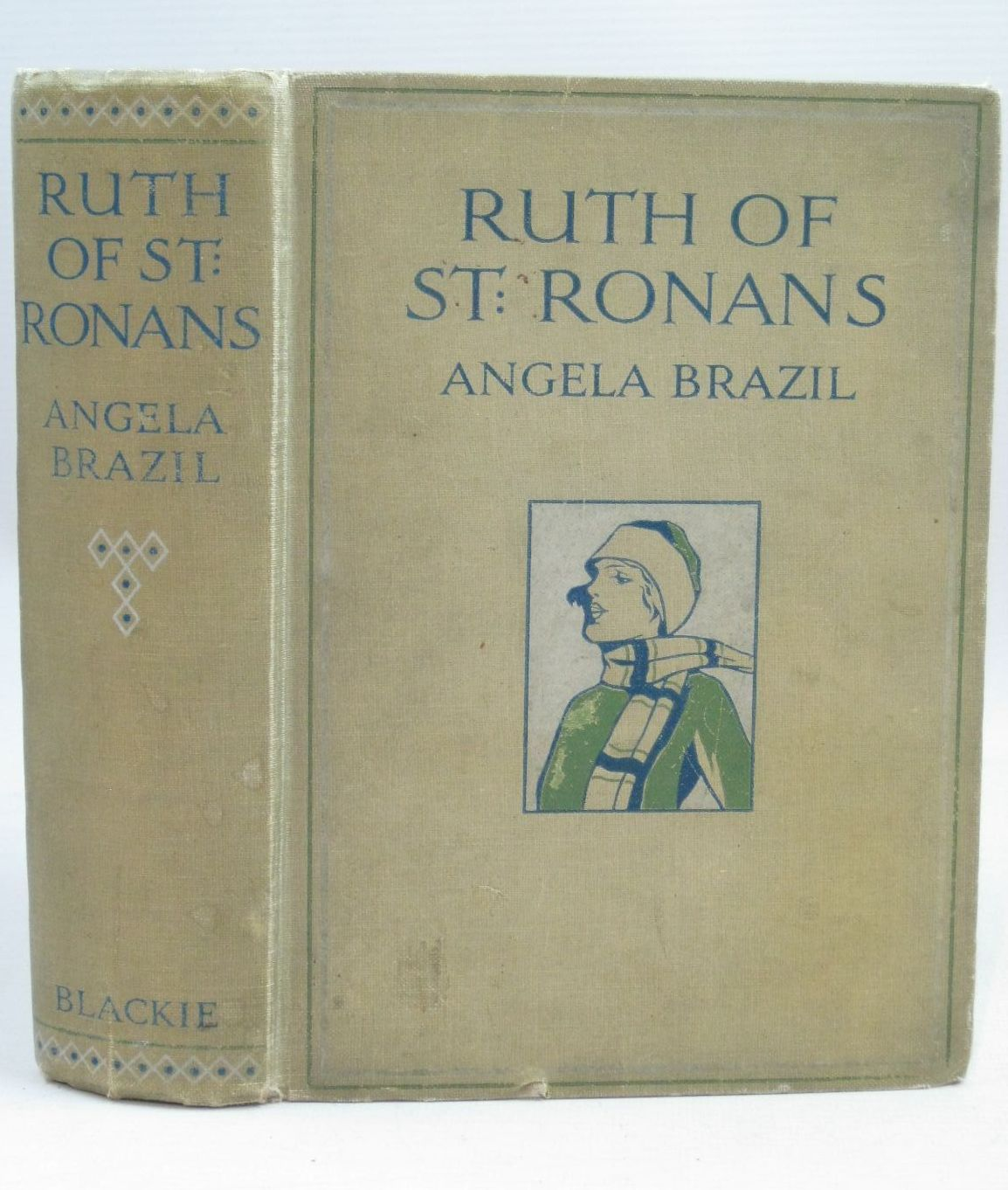 Photo of RUTH OF ST. RONAN'S written by Brazil, Angela illustrated by Oldham, Frank published by Blackie & Son Ltd. (STOCK CODE: 1405818)  for sale by Stella & Rose's Books