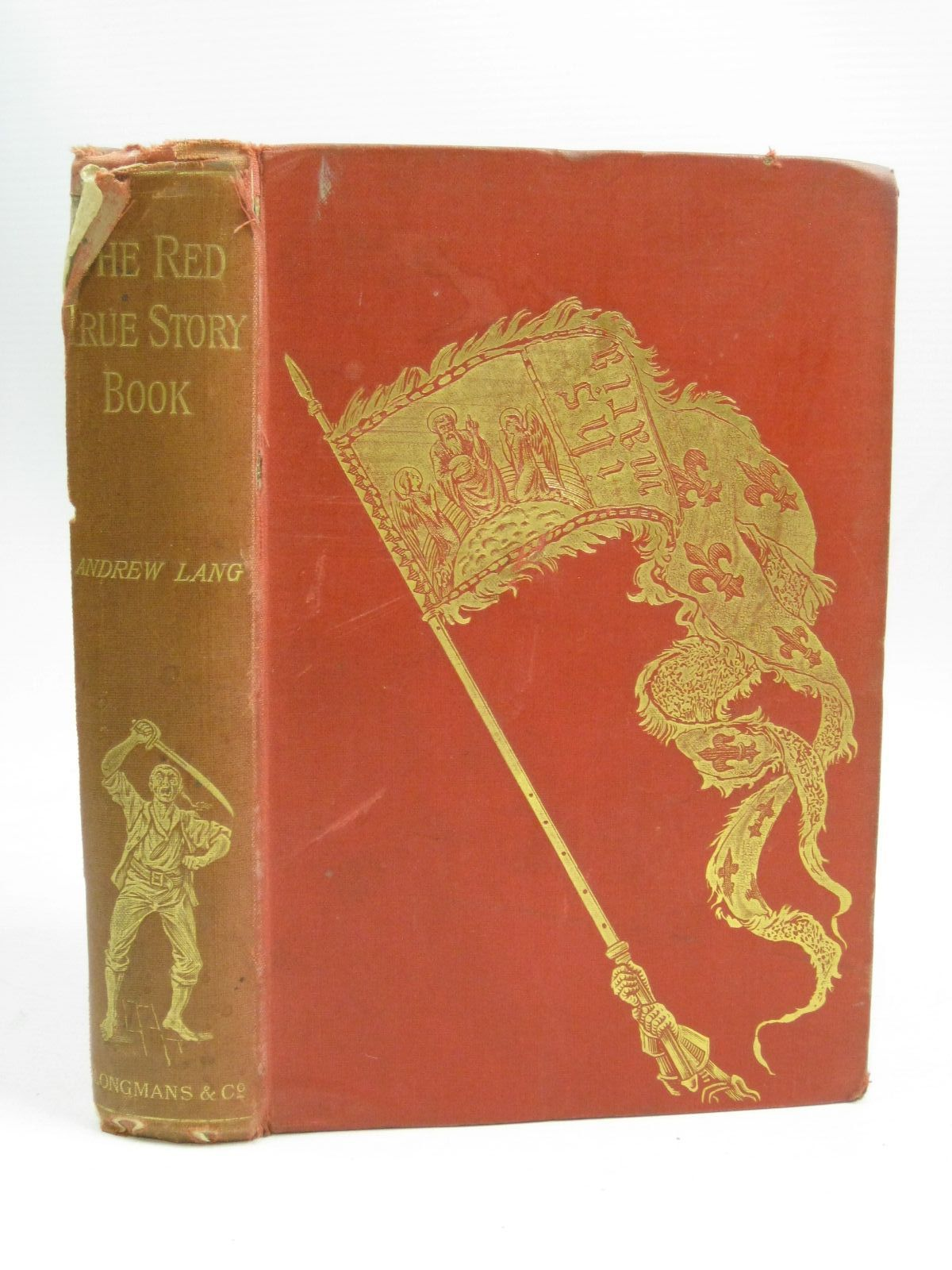 Photo of THE RED TRUE STORY BOOK