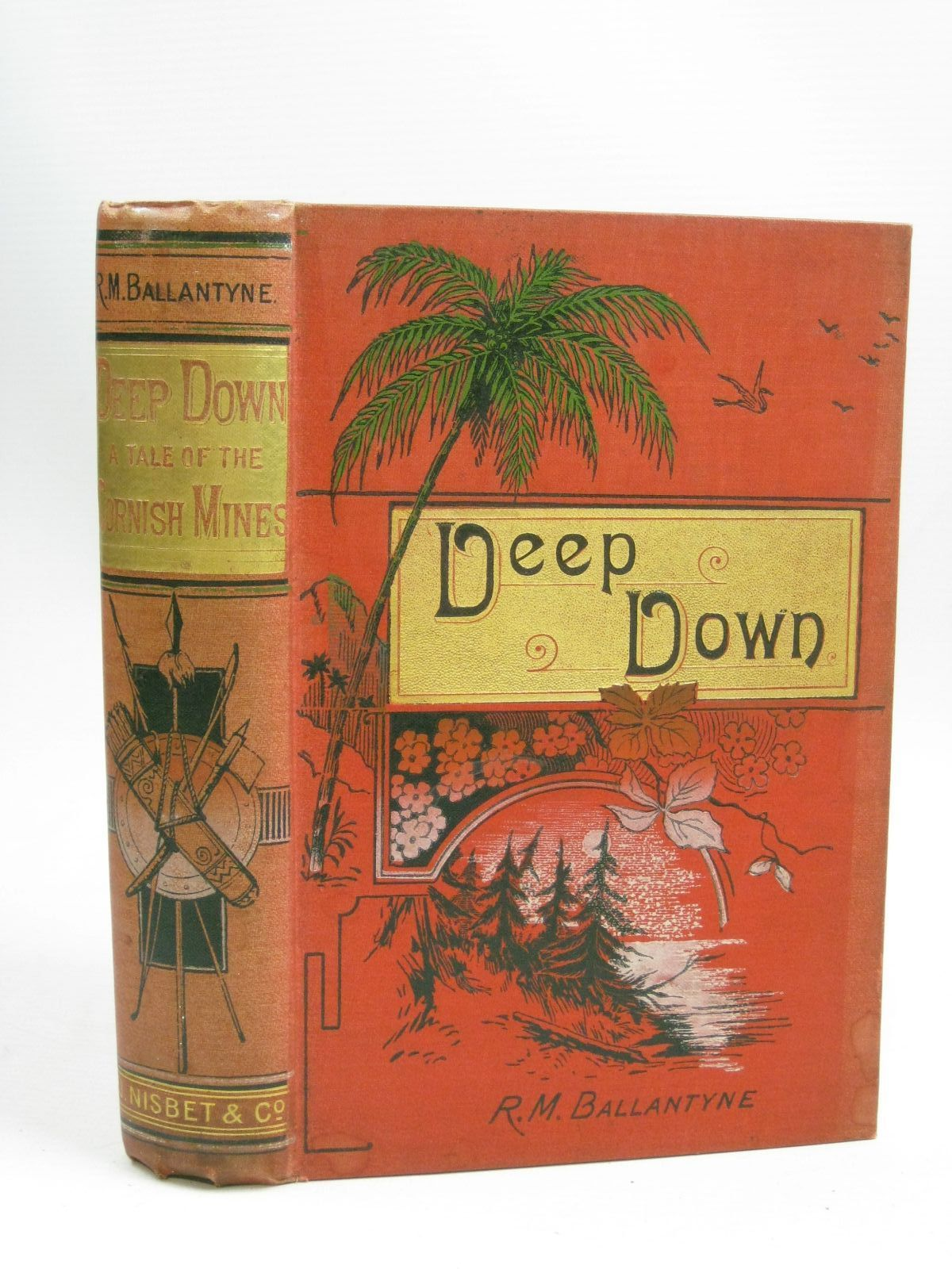 Photo of DEEP DOWN written by Ballantyne, R.M. published by James Nisbet & Co. (STOCK CODE: 1405833)  for sale by Stella & Rose's Books