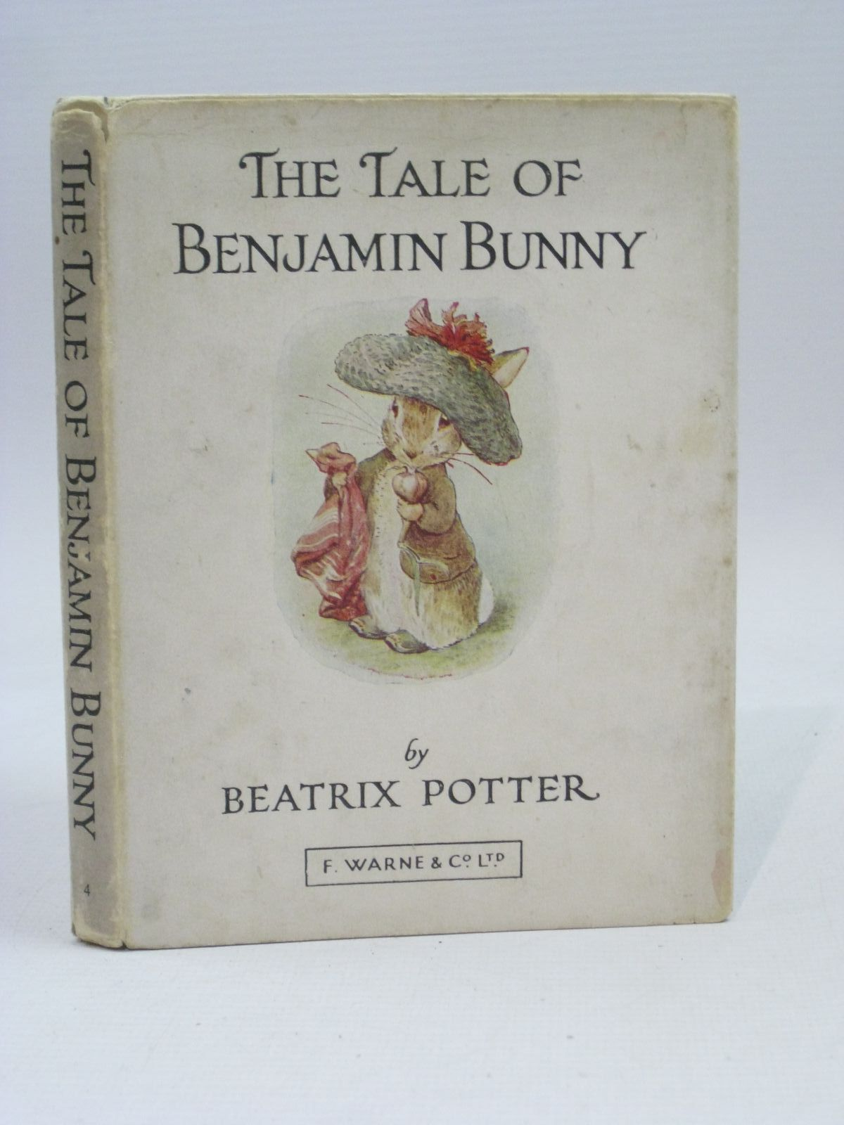 Photo of THE TALE OF BENJAMIN BUNNY written by Potter, Beatrix illustrated by Potter, Beatrix published by Frederick Warne & Co Ltd. (STOCK CODE: 1405845)  for sale by Stella & Rose's Books