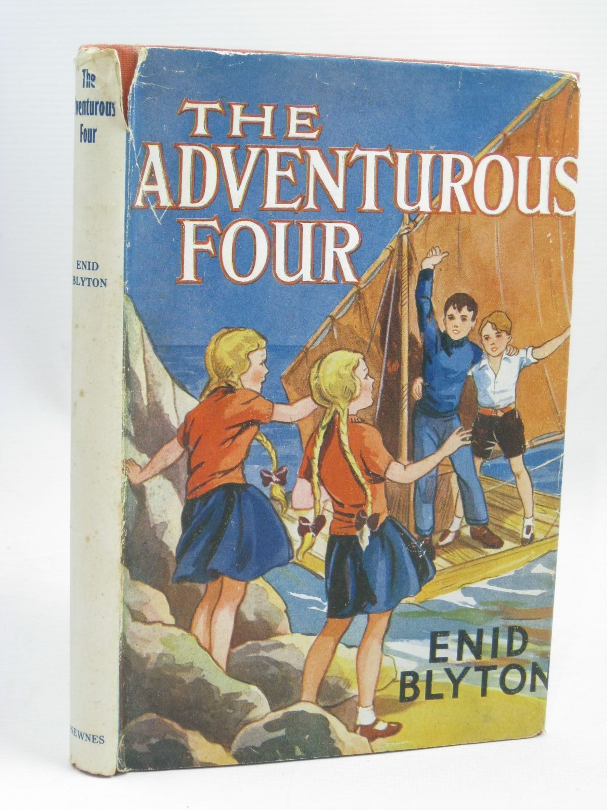 Photo of THE ADVENTUROUS FOUR written by Blyton, Enid illustrated by Davie, E.H. published by George Newnes Limited (STOCK CODE: 1405853)  for sale by Stella & Rose's Books