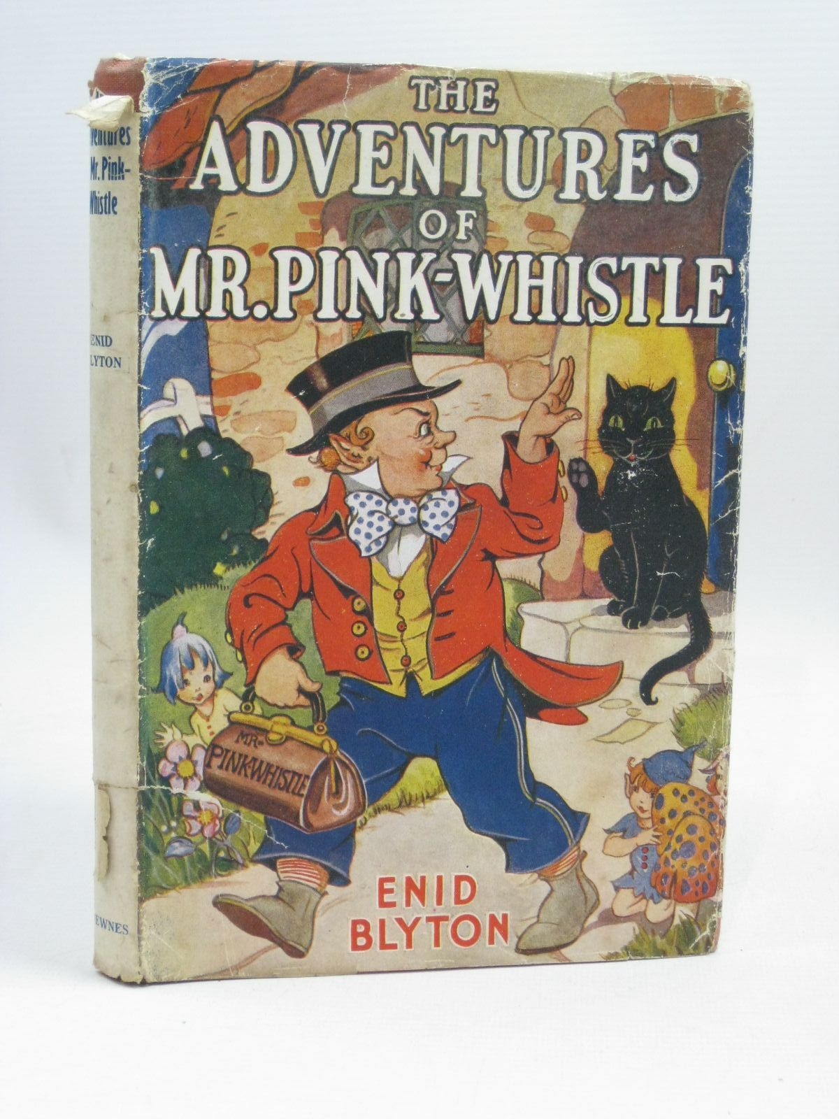 Photo of THE ADVENTURES OF MR. PINK-WHISTLE written by Blyton, Enid illustrated by Wheeler, Dorothy published by George Newnes Ltd. (STOCK CODE: 1405855)  for sale by Stella & Rose's Books