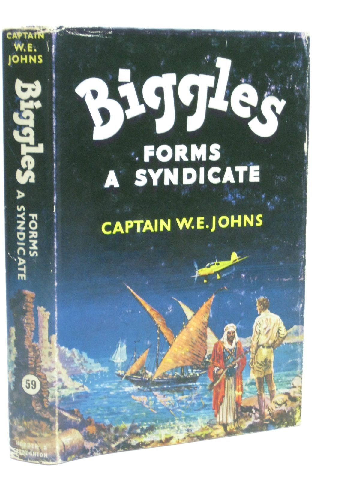 Photo of BIGGLES FORMS A SYNDICATE written by Johns, W.E. illustrated by Stead,  published by Hodder & Stoughton (STOCK CODE: 1405891)  for sale by Stella & Rose's Books
