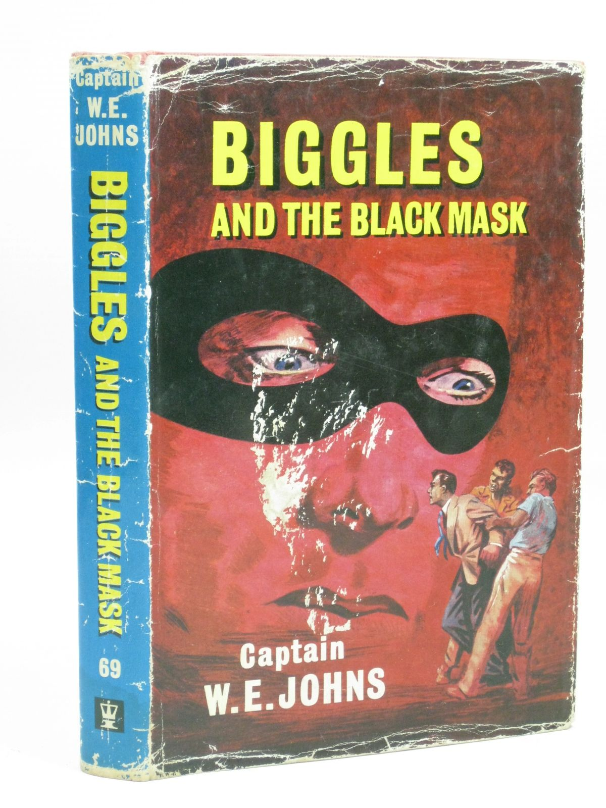 Photo of BIGGLES AND THE BLACK MASK written by Johns, W.E. illustrated by Stead,  published by Hodder & Stoughton (STOCK CODE: 1405902)  for sale by Stella & Rose's Books