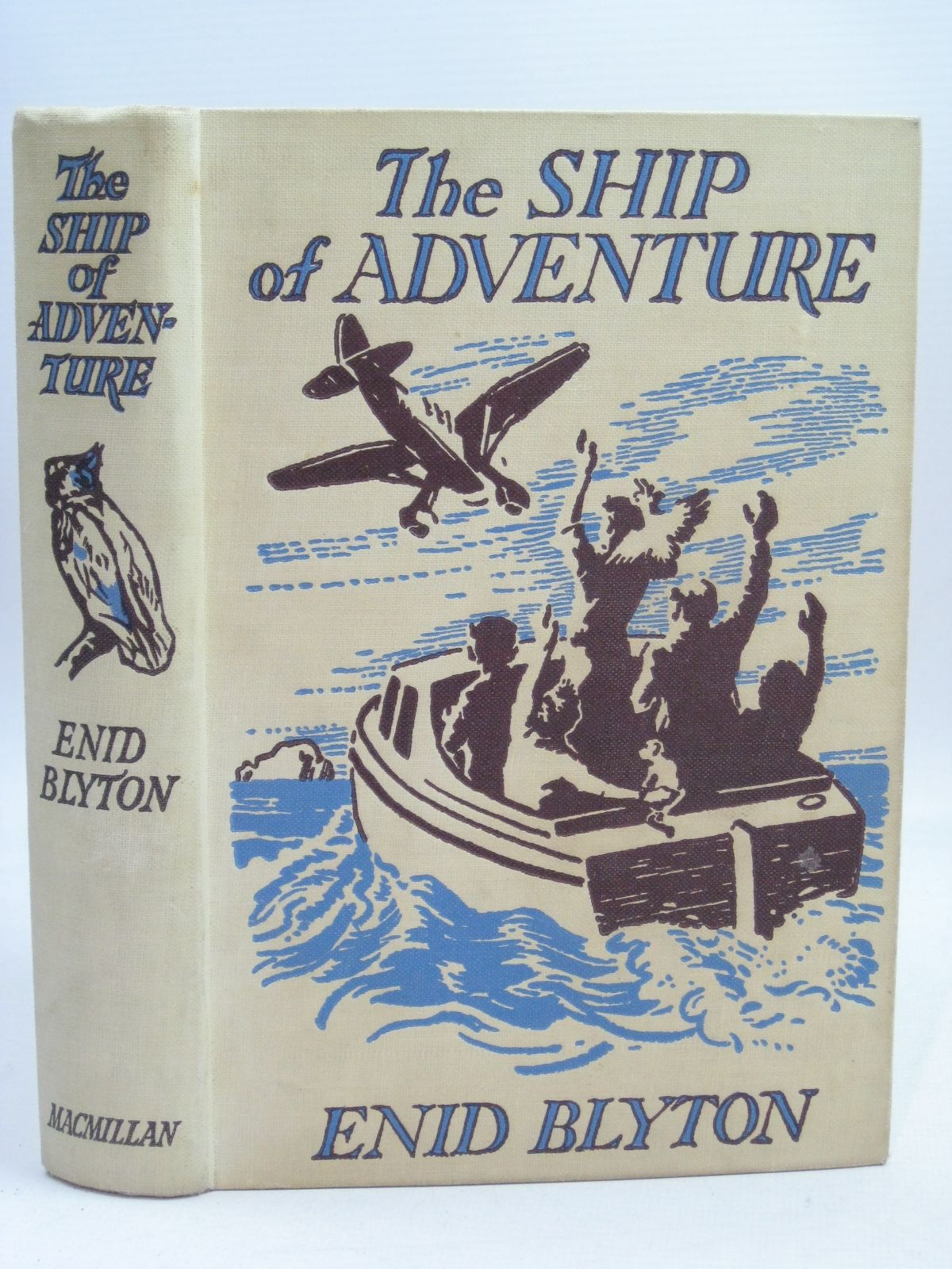Photo of THE SHIP OF ADVENTURE written by Blyton, Enid illustrated by Tresilian, Stuart published by Macmillan & Co. Ltd. (STOCK CODE: 1405910)  for sale by Stella & Rose's Books
