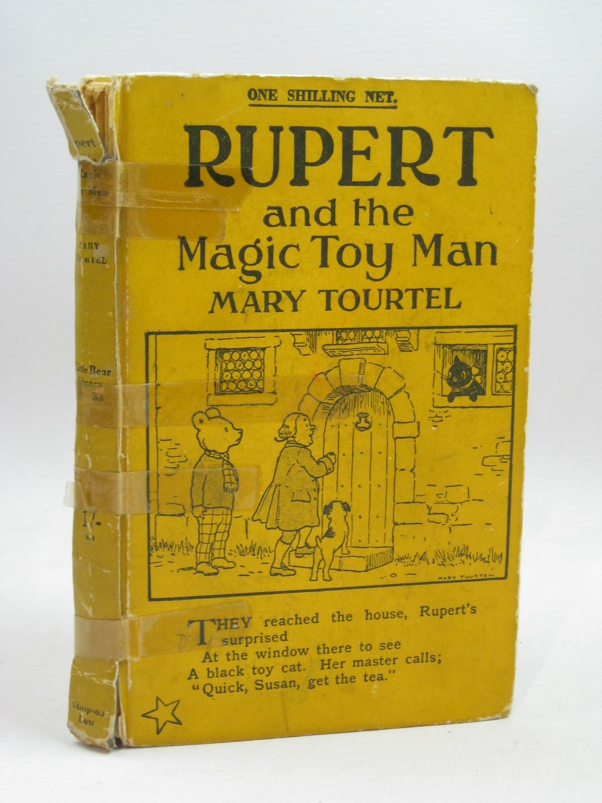 Photo of RUPERT AND THE MAGIC TOY MAN - RUPERT LITTLE BEAR LIBRARY NO. 33 written by Tourtel, Mary illustrated by Tourtel, Mary published by Sampson Low, Marston & Co. Ltd. (STOCK CODE: 1405920)  for sale by Stella & Rose's Books