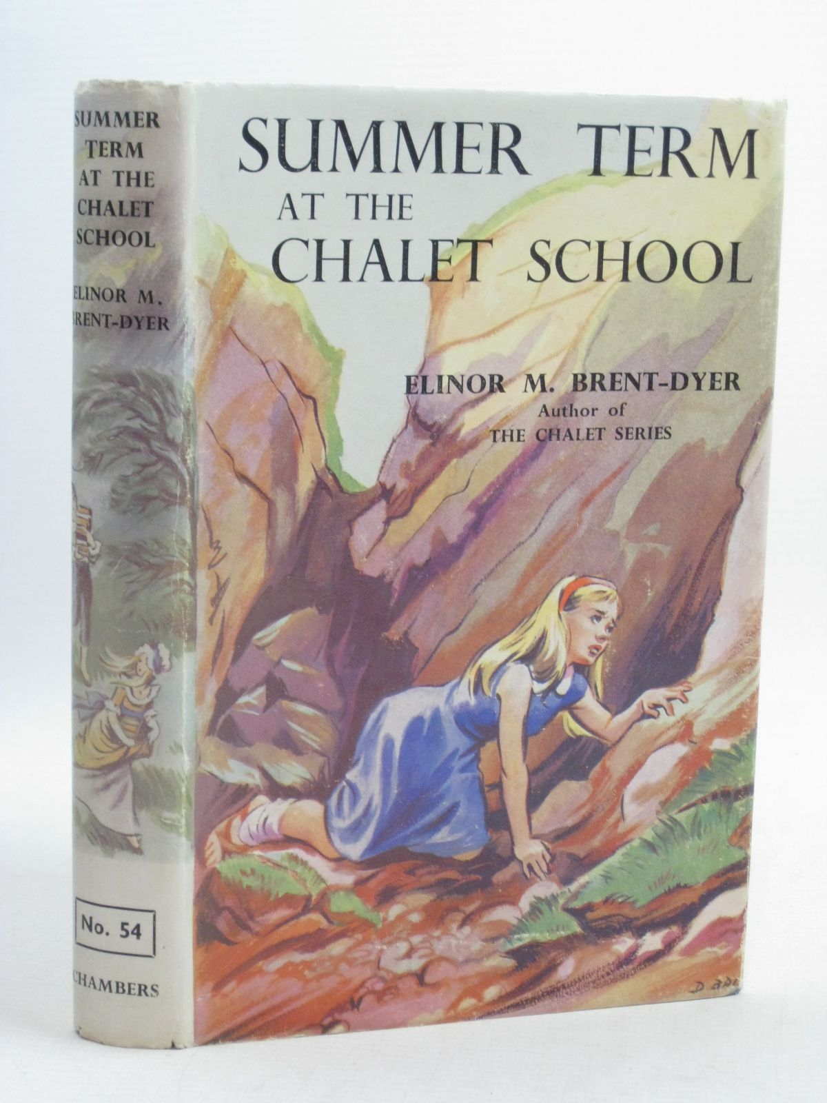 Photo of SUMMER TERM AT THE CHALET SCHOOL written by Brent-Dyer, Elinor M. illustrated by Brook, D. published by W. & R. Chambers Limited (STOCK CODE: 1406008)  for sale by Stella & Rose's Books
