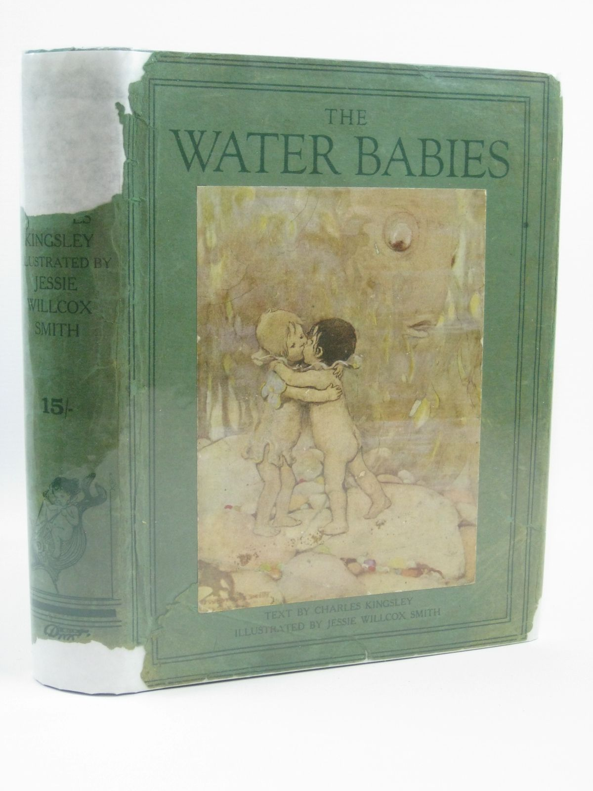 Photo of THE WATER BABIES written by Kingsley, Charles illustrated by Smith, Jessie Willcox published by Hodder & Stoughton (STOCK CODE: 1406056)  for sale by Stella & Rose's Books