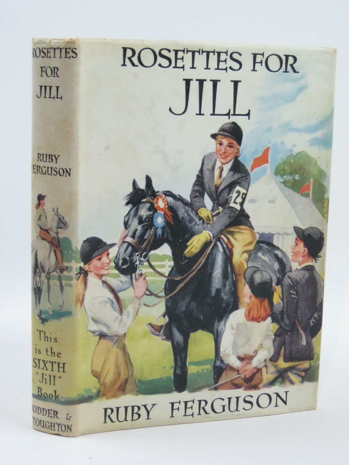 Photo of ROSETTES FOR JILL written by Ferguson, Ruby illustrated by Caney,  published by Hodder & Stoughton (STOCK CODE: 1406090)  for sale by Stella & Rose's Books