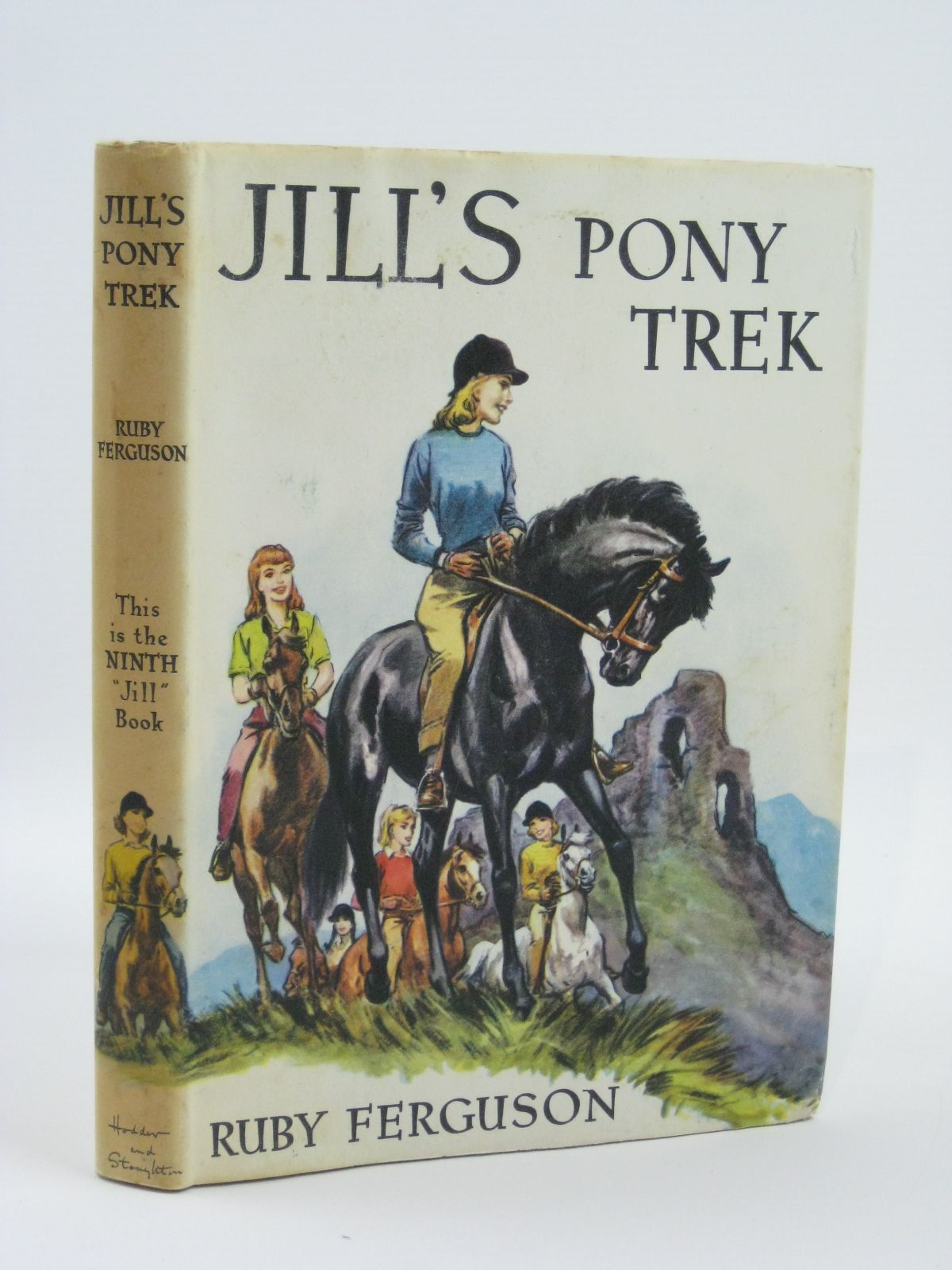 Photo of JILL'S PONY TREK written by Ferguson, Ruby illustrated by Caney, published by Hodder & Stoughton (STOCK CODE: 1406091)  for sale by Stella & Rose's Books