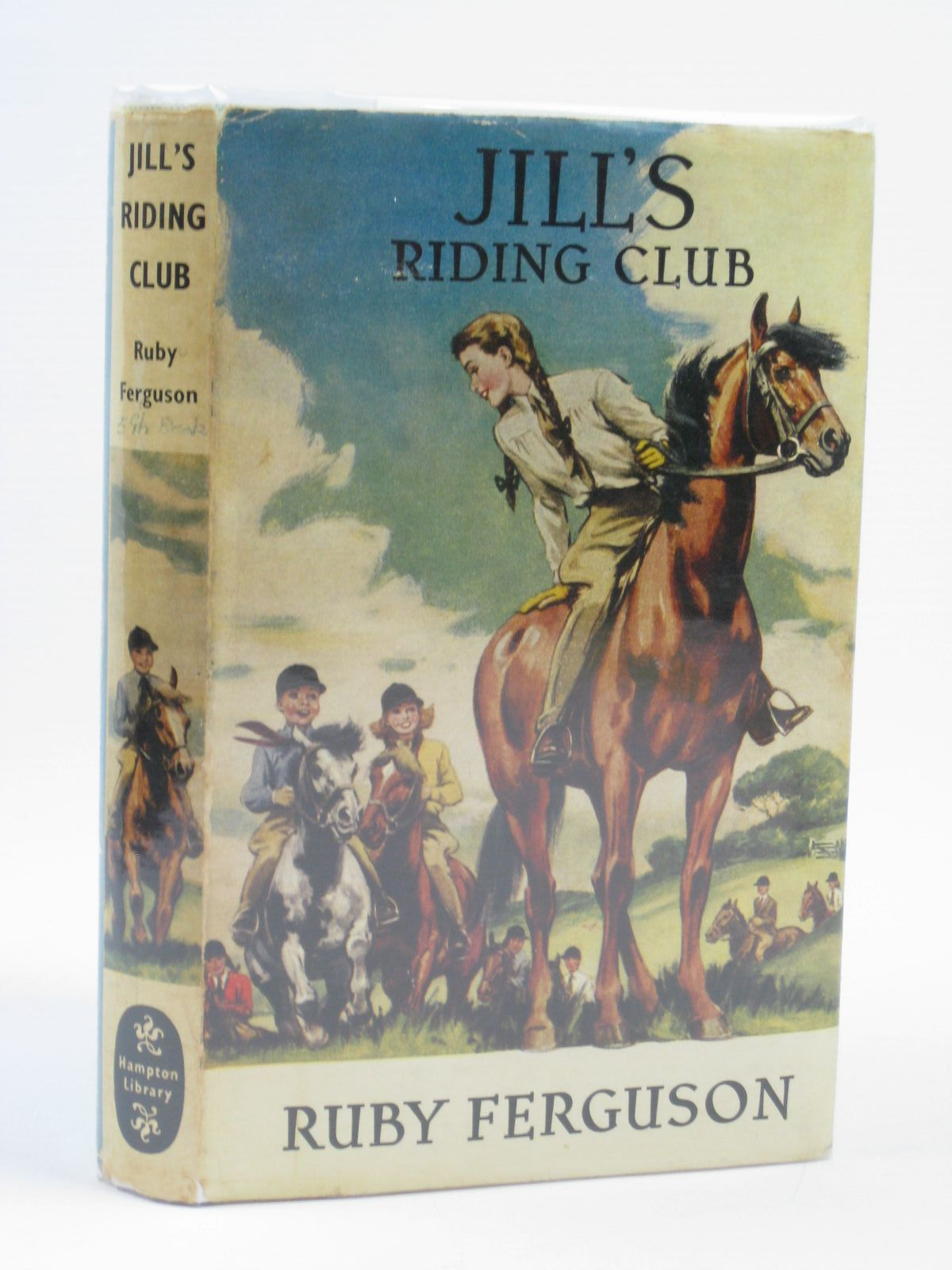 Photo of JILL'S RIDING CLUB written by Ferguson, Ruby illustrated by Caney, published by Brockhampton Press (STOCK CODE: 1406114)  for sale by Stella & Rose's Books