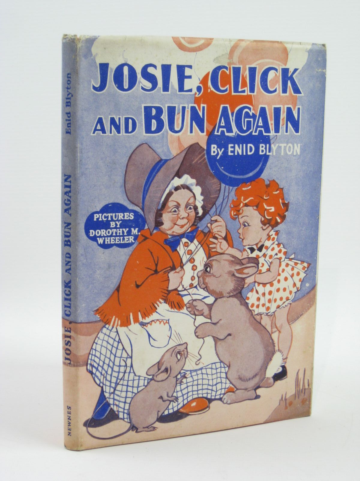Photo of JOSIE, CLICK AND BUN AGAIN written by Blyton, Enid illustrated by Wheeler, Dorothy M. published by George Newnes Limited (STOCK CODE: 1406148)  for sale by Stella & Rose's Books