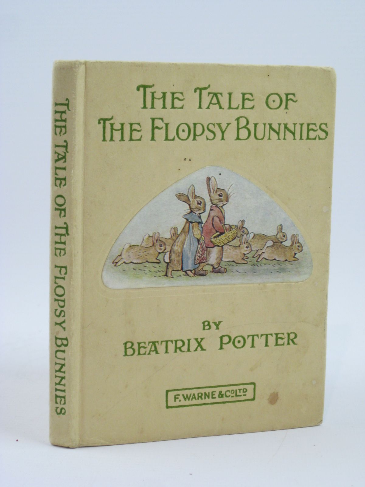 Photo of THE TALE OF THE FLOPSY BUNNIES written by Potter, Beatrix illustrated by Potter, Beatrix published by Frederick Warne & Co Ltd. (STOCK CODE: 1406171)  for sale by Stella & Rose's Books