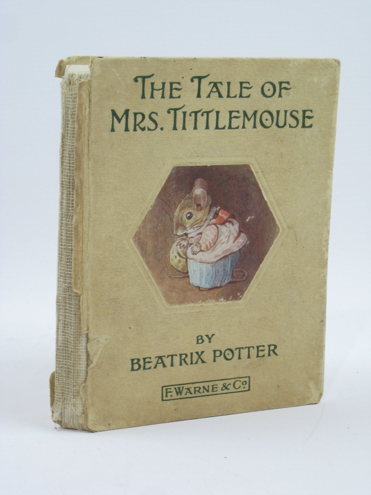 Photo of THE TALE OF MRS. TITTLEMOUSE written by Potter, Beatrix illustrated by Potter, Beatrix published by Frederick Warne & Co Ltd. (STOCK CODE: 1406173)  for sale by Stella & Rose's Books
