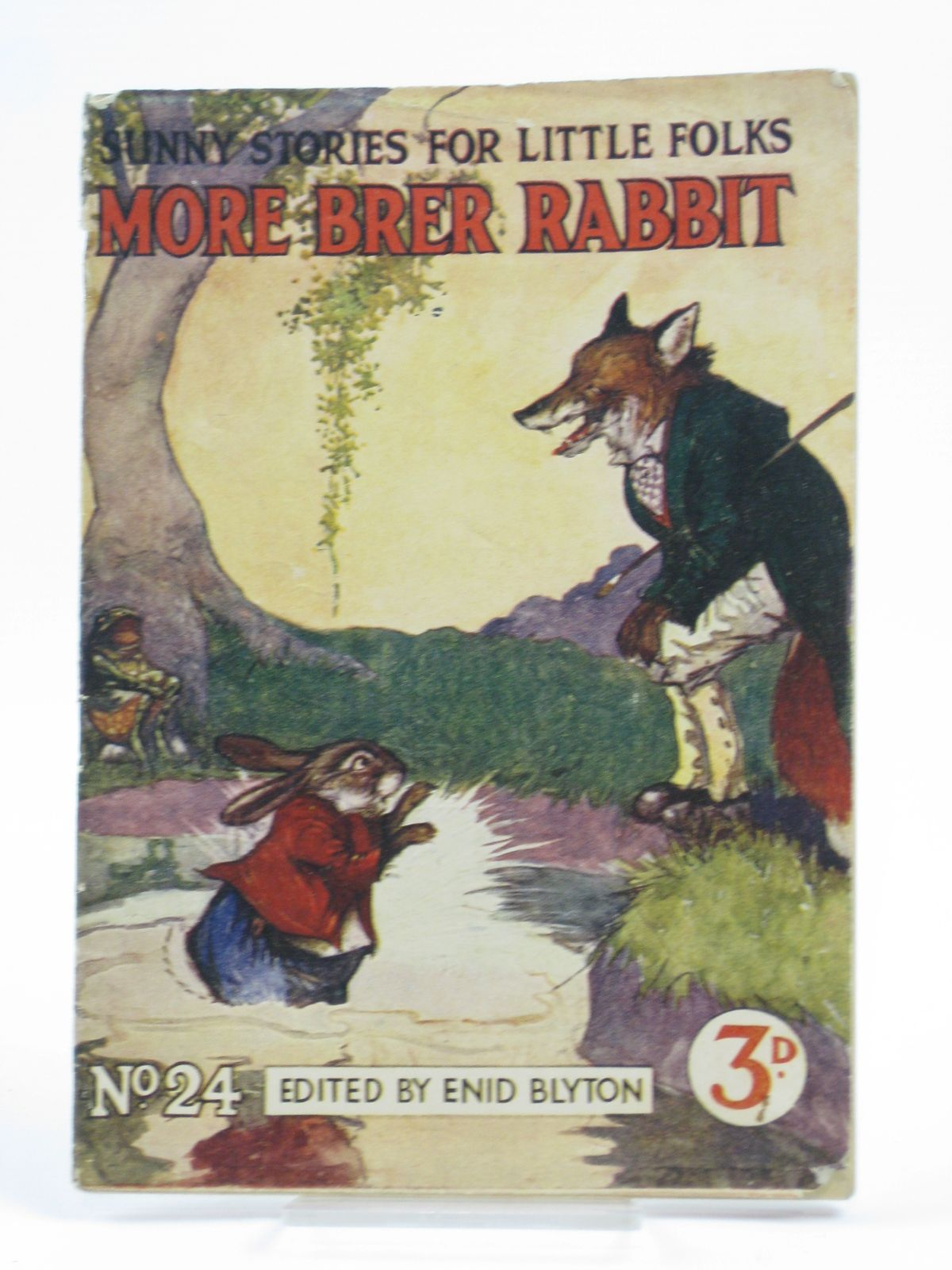 Photo of SUNNY STORIES FOR LITTLE FOLKS No. 24 MORE BRER RABBIT written by Blyton, Enid illustrated by Aris, Ernest A. published by George Newnes Ltd. (STOCK CODE: 1406177)  for sale by Stella & Rose's Books