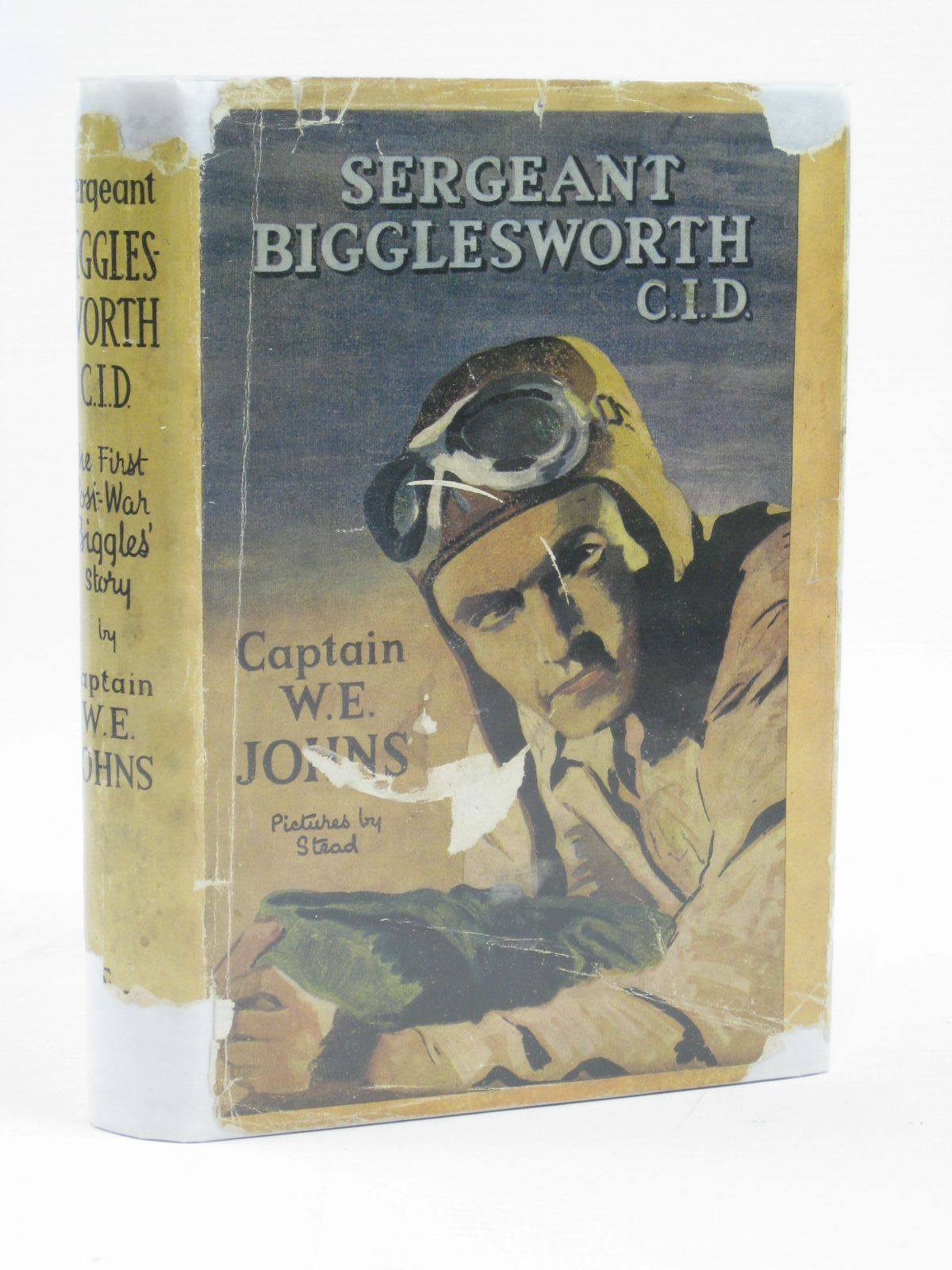 Photo of SERGEANT BIGGLESWORTH C.I.D. written by Johns, W.E. illustrated by Stead, Leslie published by Hodder & Stoughton (STOCK CODE: 1406214)  for sale by Stella & Rose's Books