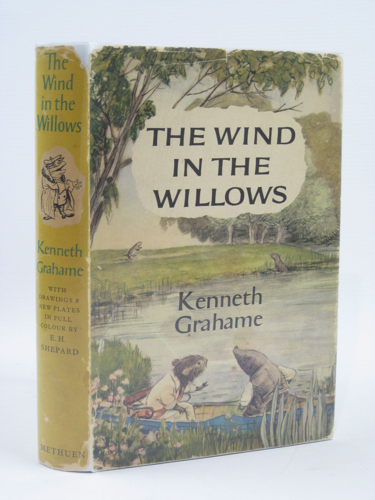 Photo of THE WIND IN THE WILLOWS written by Grahame, Kenneth illustrated by Shepard, E.H. published by Methuen & Co. Ltd. (STOCK CODE: 1406216)  for sale by Stella & Rose's Books