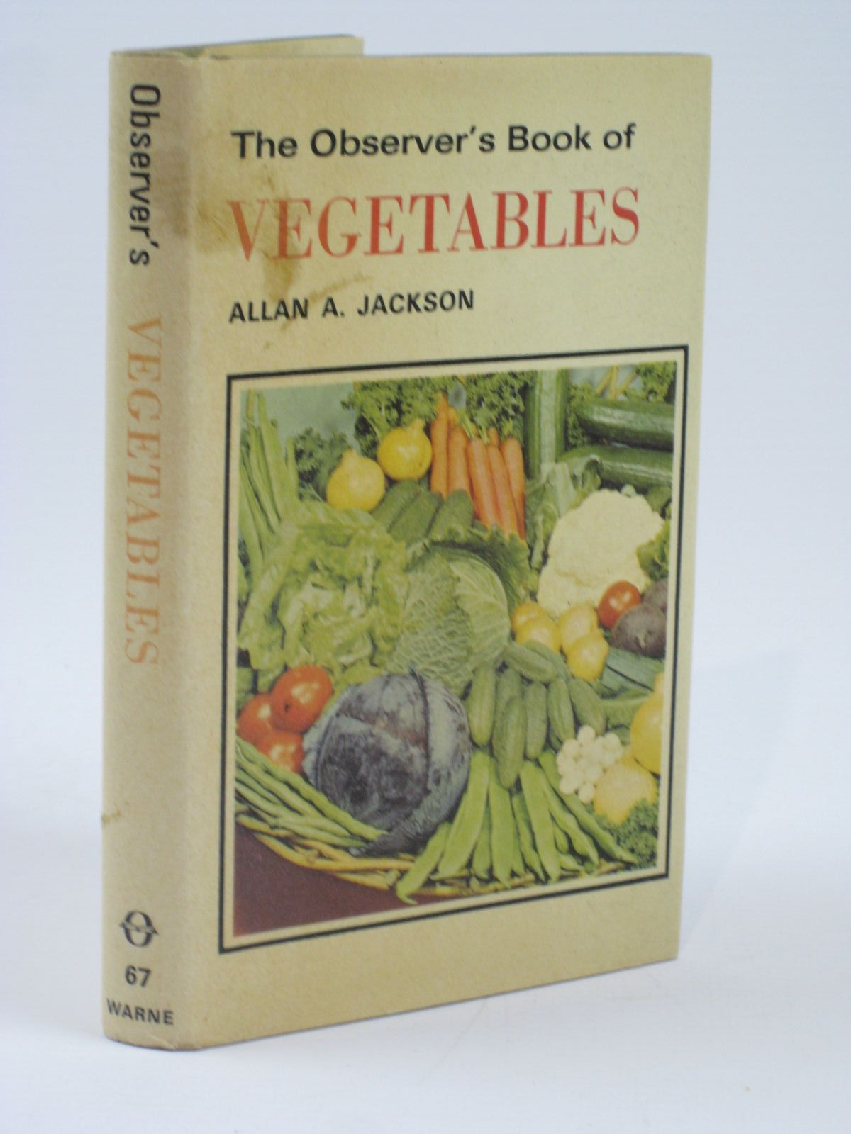 Photo of THE OBSERVER'S BOOK OF VEGETABLES written by Jackson, Allan A. published by Frederick Warne (STOCK CODE: 1406240)  for sale by Stella & Rose's Books