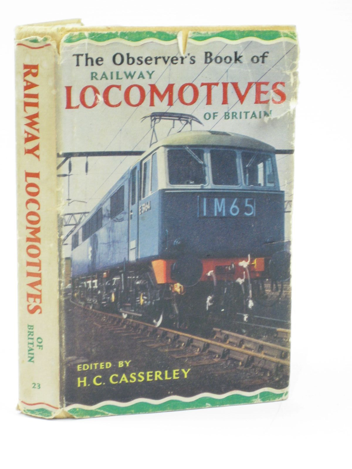 Photo of THE OBSERVER'S BOOK OF RAILWAY LOCOMOTIVES OF BRITAIN written by Casserley, H.C. published by Frederick Warne & Co Ltd. (STOCK CODE: 1406241)  for sale by Stella & Rose's Books