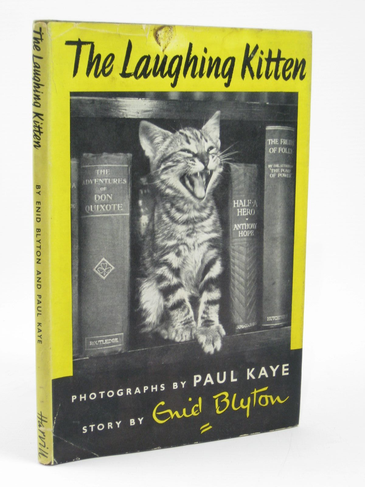 Photo of THE LAUGHING KITTEN written by Blyton, Enid illustrated by Kaye, Paul published by The Harvill Press (STOCK CODE: 1406286)  for sale by Stella & Rose's Books