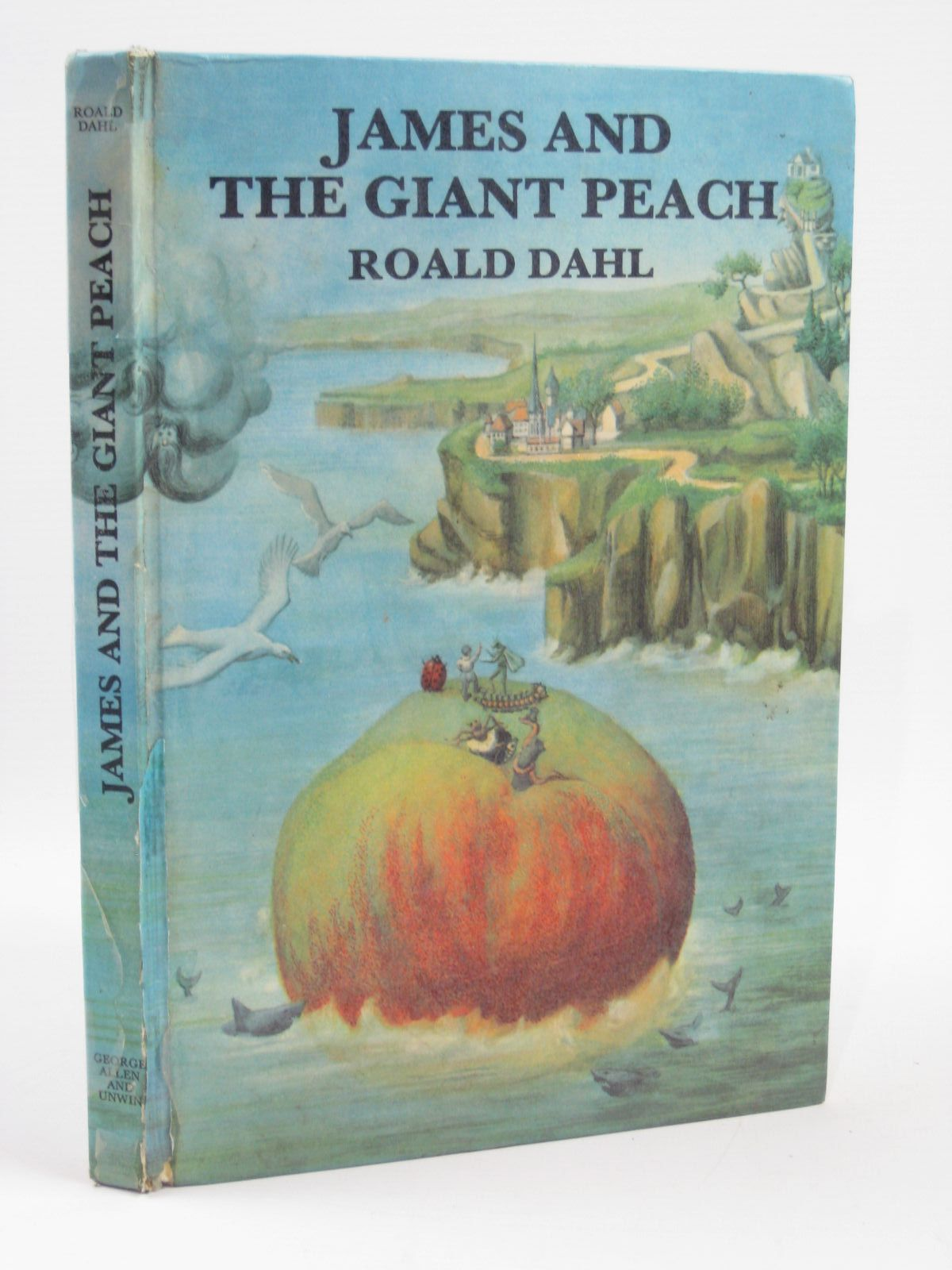 Photo of JAMES AND THE GIANT PEACH written by Dahl, Roald illustrated by Simeon, Michel published by George Allen & Unwin Ltd. (STOCK CODE: 1406293)  for sale by Stella & Rose's Books