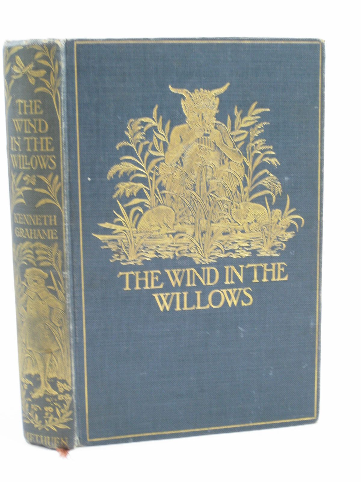 Photo of THE WIND IN THE WILLOWS written by Grahame, Kenneth illustrated by Robertson, Graham published by Methuen & Co. (STOCK CODE: 1406303)  for sale by Stella & Rose's Books