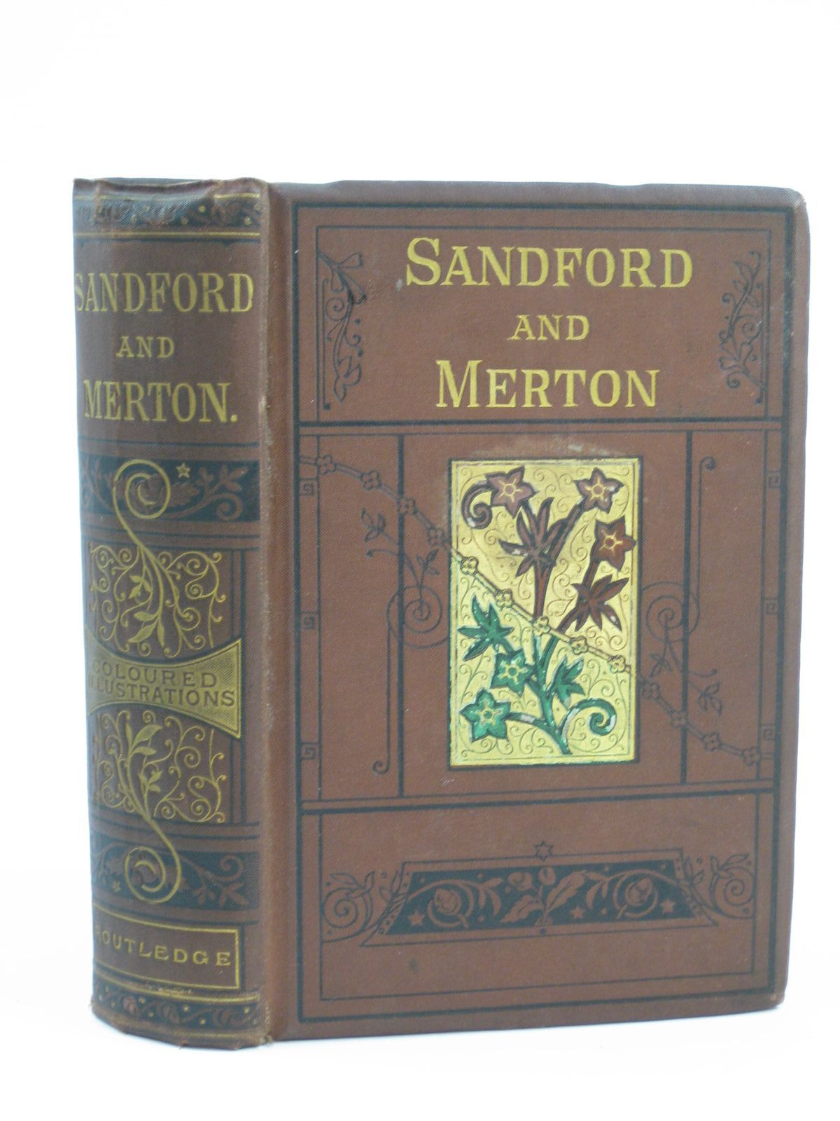 Photo of THE HISTORY OF SANDFORD AND MERTON written by Day, Thomas illustrated by Kronheim,<br />et al., published by George Routledge & Sons (STOCK CODE: 1406387)  for sale by Stella & Rose's Books