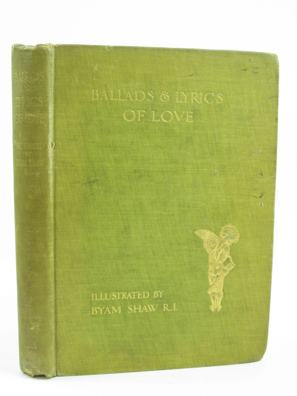 Photo of BALLADS AND LYRICS OF LOVE written by Sidgwick, Frank illustrated by Shaw, Byam published by Chatto & Windus (STOCK CODE: 1406389)  for sale by Stella & Rose's Books