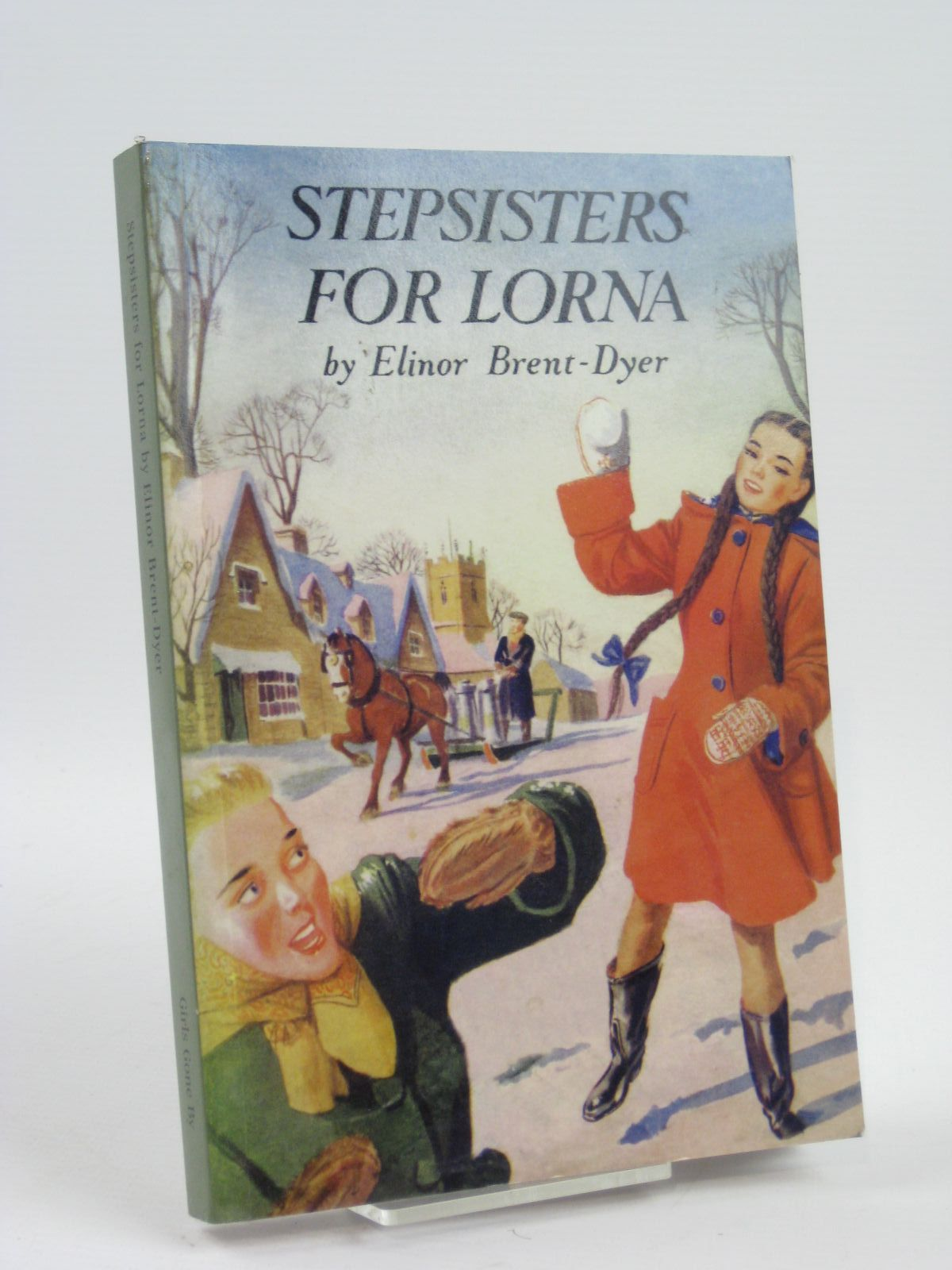 Photo of STEPSISTERS FOR LORNA written by Brent-Dyer, Elinor M. published by Girls Gone By (STOCK CODE: 1406395)  for sale by Stella & Rose's Books