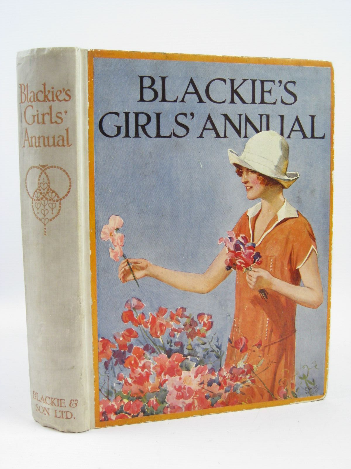 Photo of BLACKIE'S GIRLS' ANNUAL written by Joan, Natalie<br />Smith, Evelyn<br />Brazil, Angela<br />Gunn, Alice Parry<br />Westrup, Joyce M.<br />Holmes, Lilian<br />Middleton, Lady<br />et al,  illustrated by Wiles, Frank E.<br />Hickling, P.B.<br />Brock, C.E.<br />Wilson, Radcliffe<br />et al.,  published by Blackie & Son Ltd. (STOCK CODE: 1406404)  for sale by Stella & Rose's Books